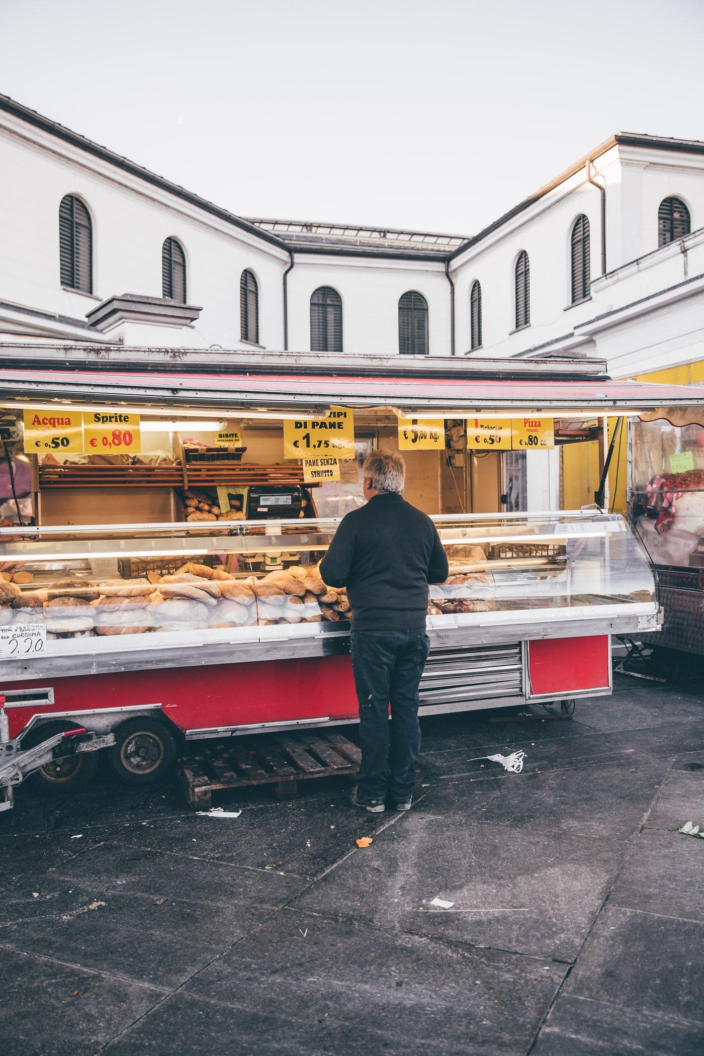 Porta Palazzo Market Turin Piedmont Italy