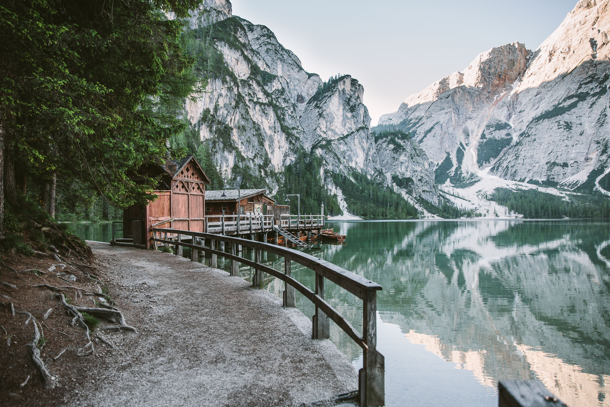 Lago di Braies South Tyrol