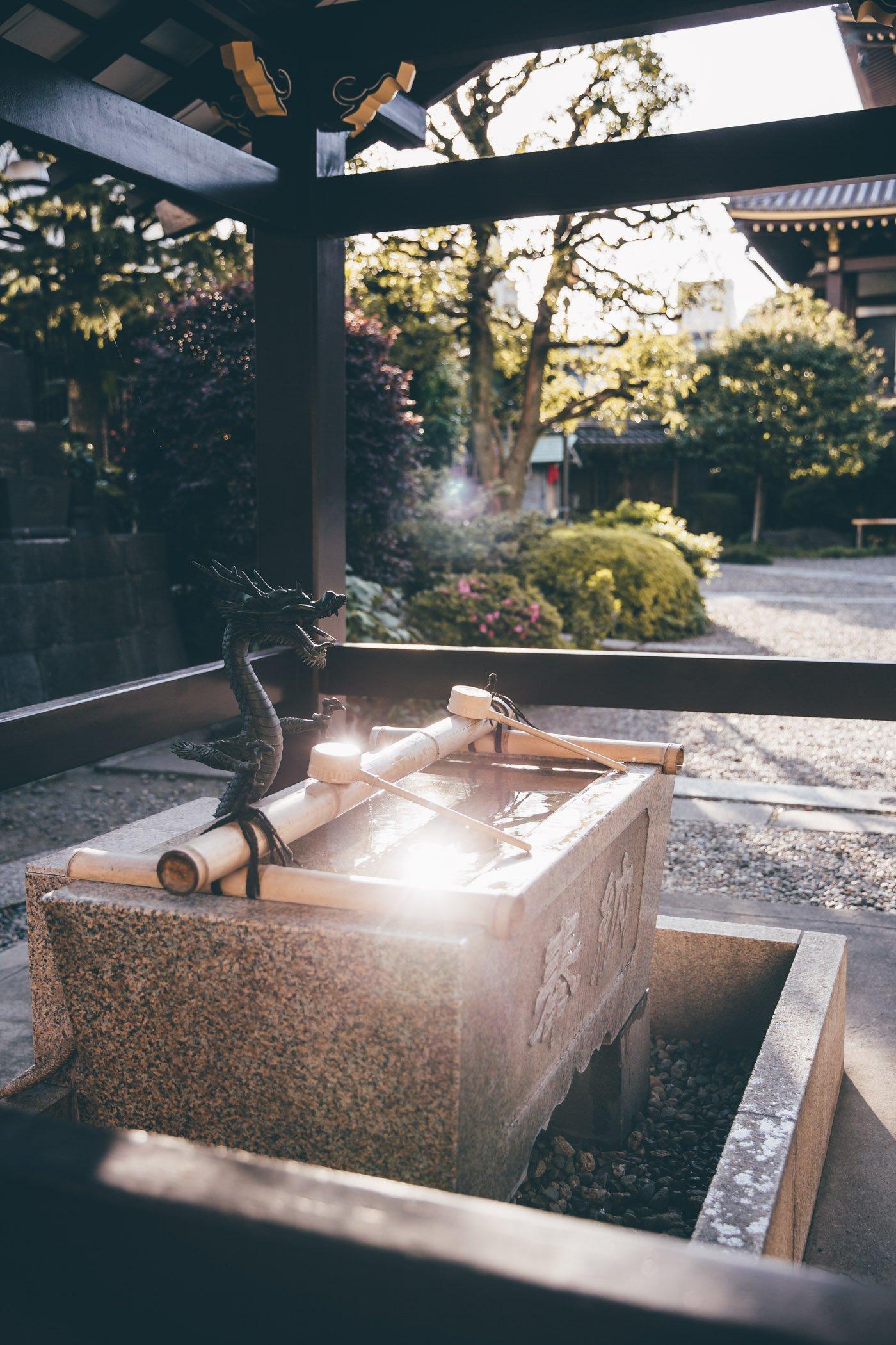 Zenkōji Temple in Tokyo