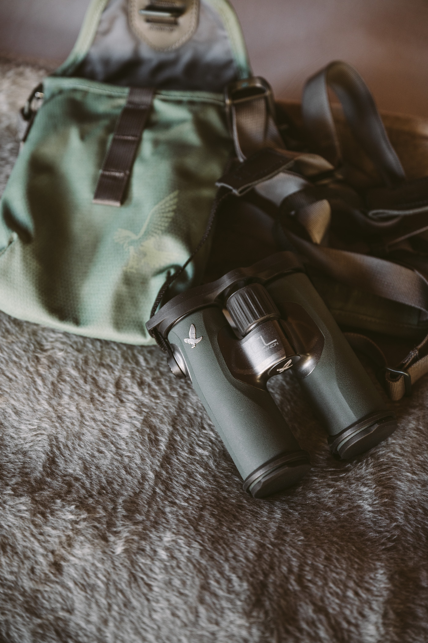 andBeyond Chobe under Canvas binoculars