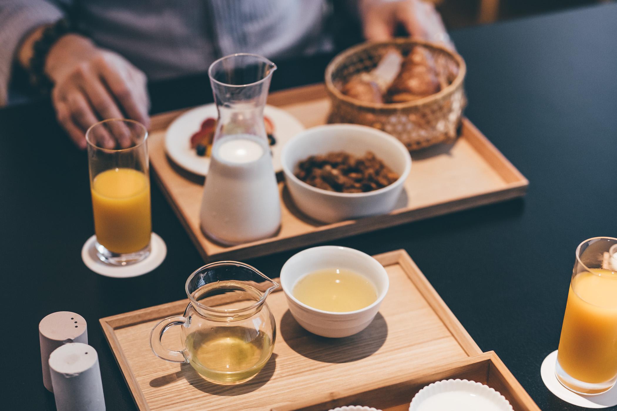 Hoshinoya Tokyo breakfast