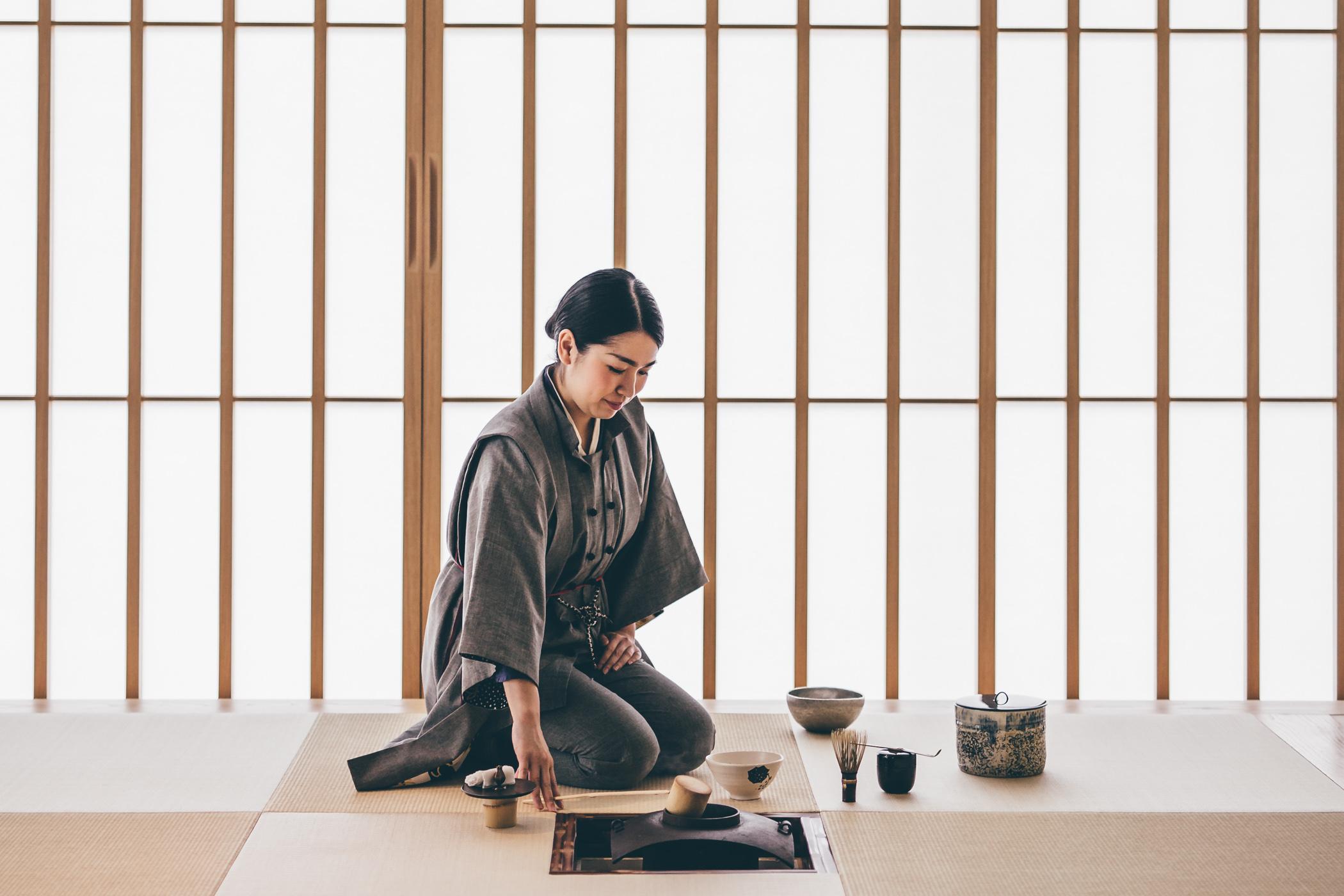 Hoshinoya Tokyo tea ceremony