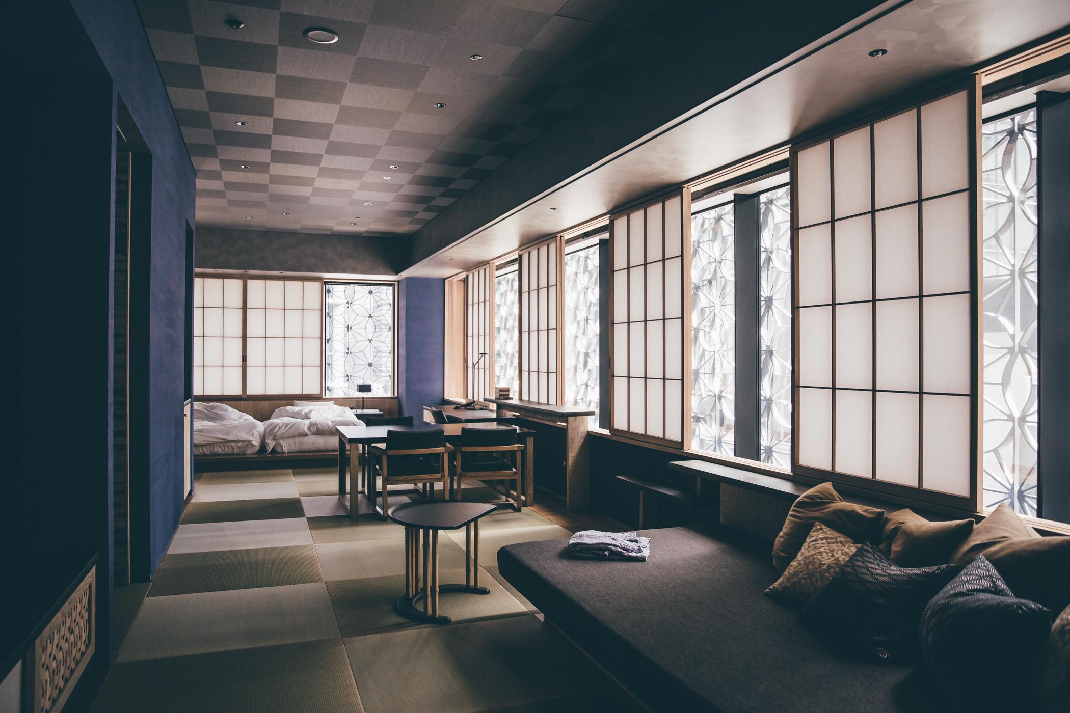 Hoshinoya Tokyo Kiku room