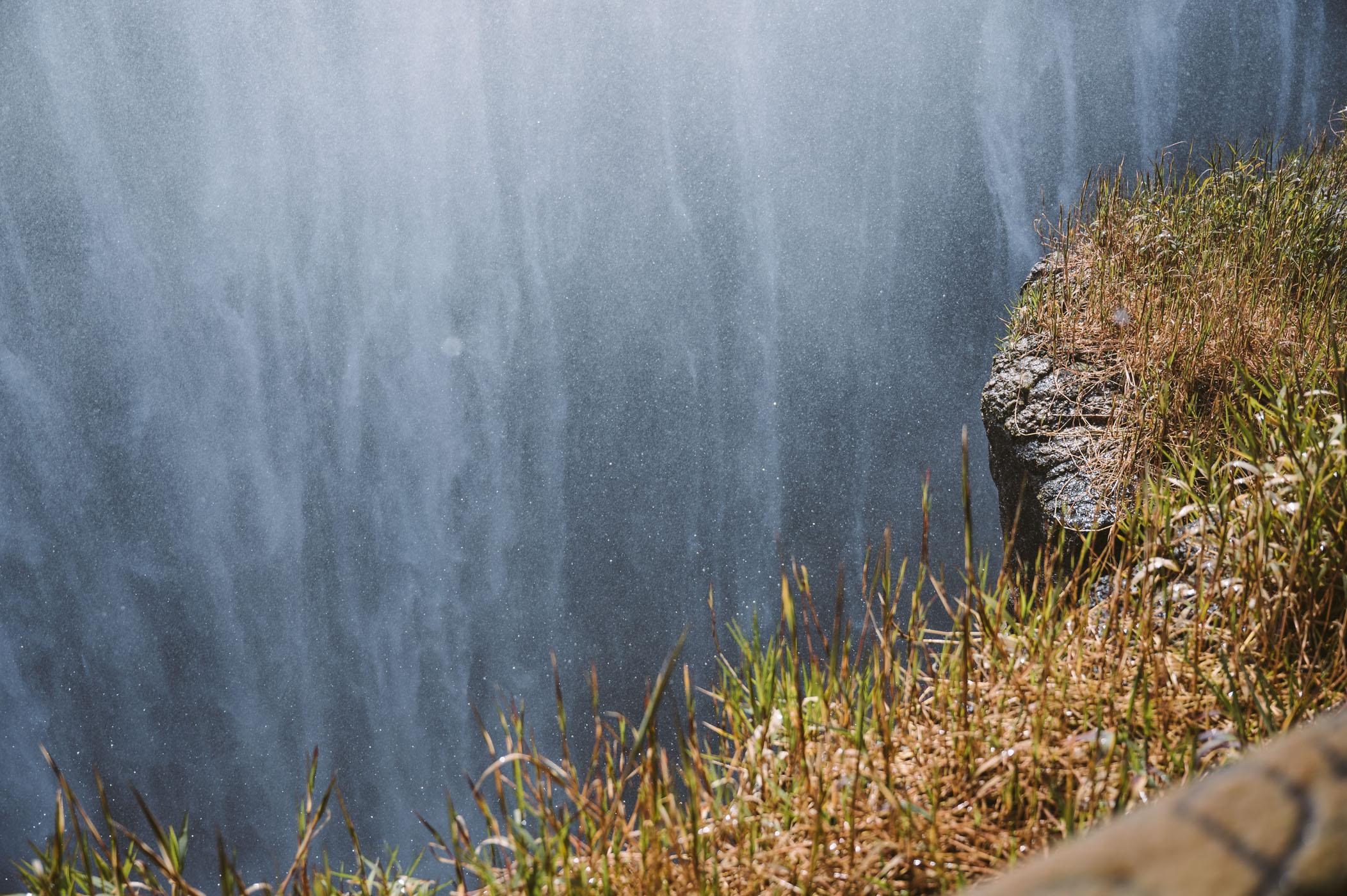 Victoria Falls from Livingstone Zambia