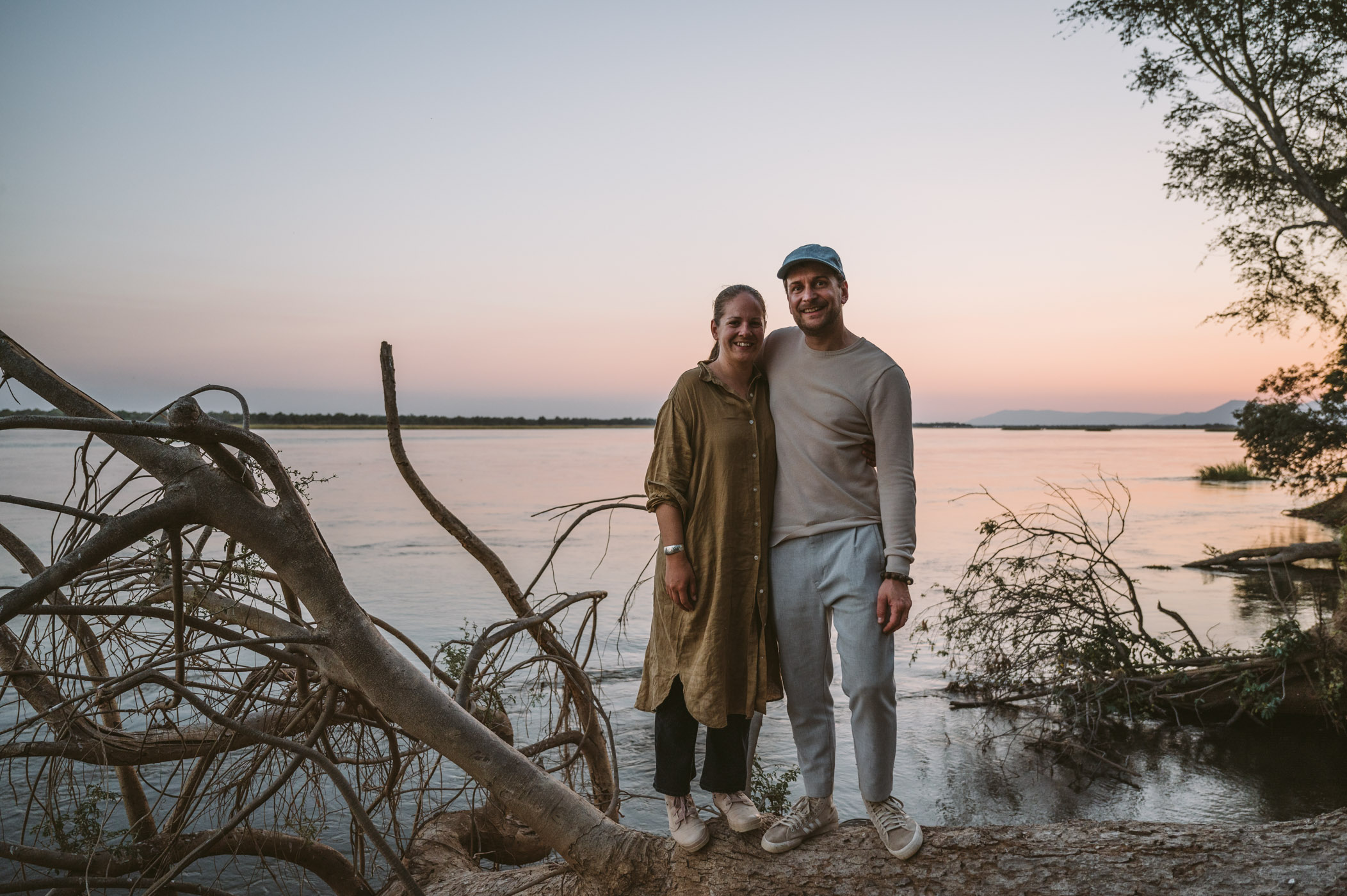 Marion & Raffael of thetravelblog.at in Zambia