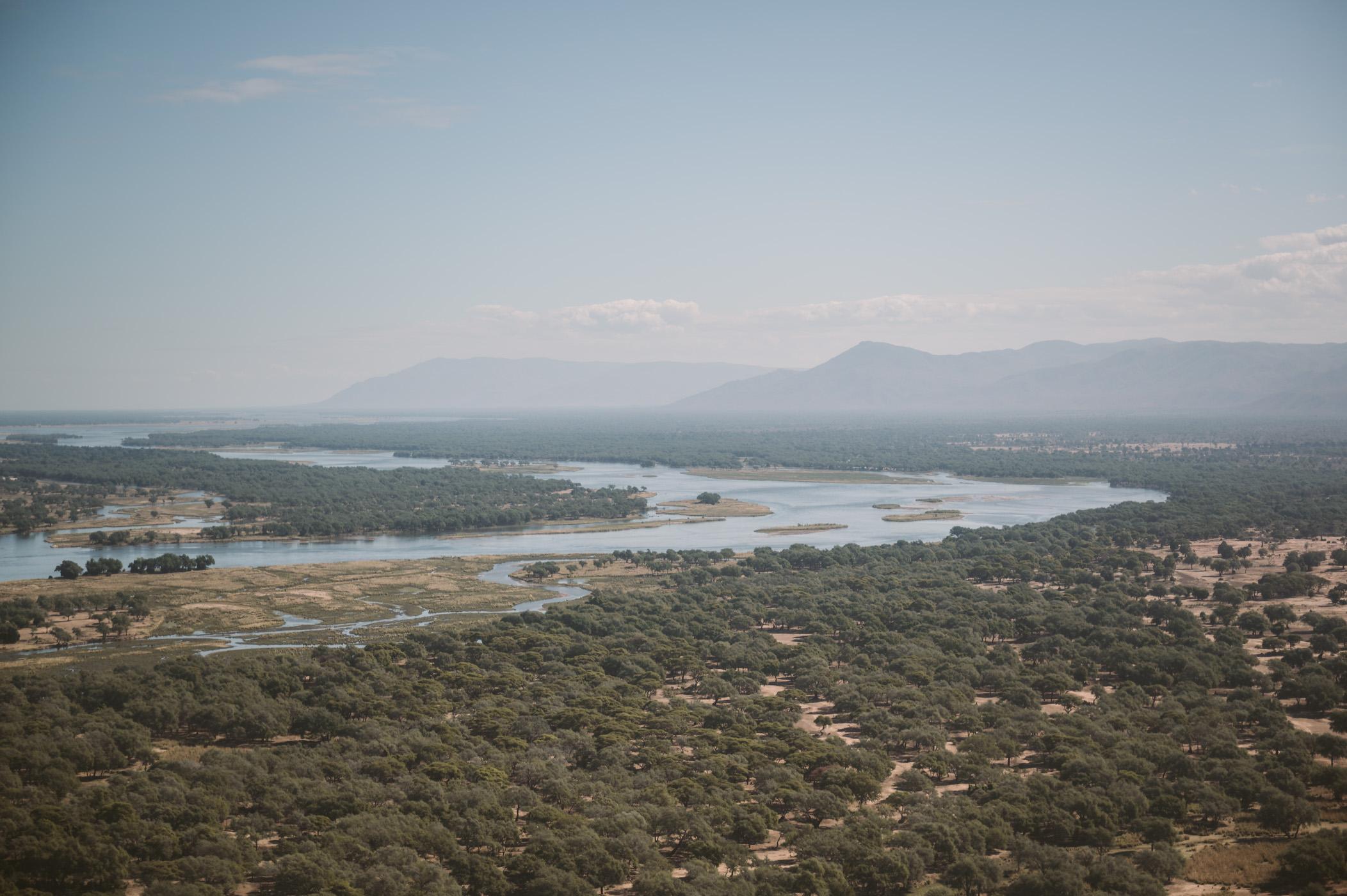 Lower Zambezi in Zambia