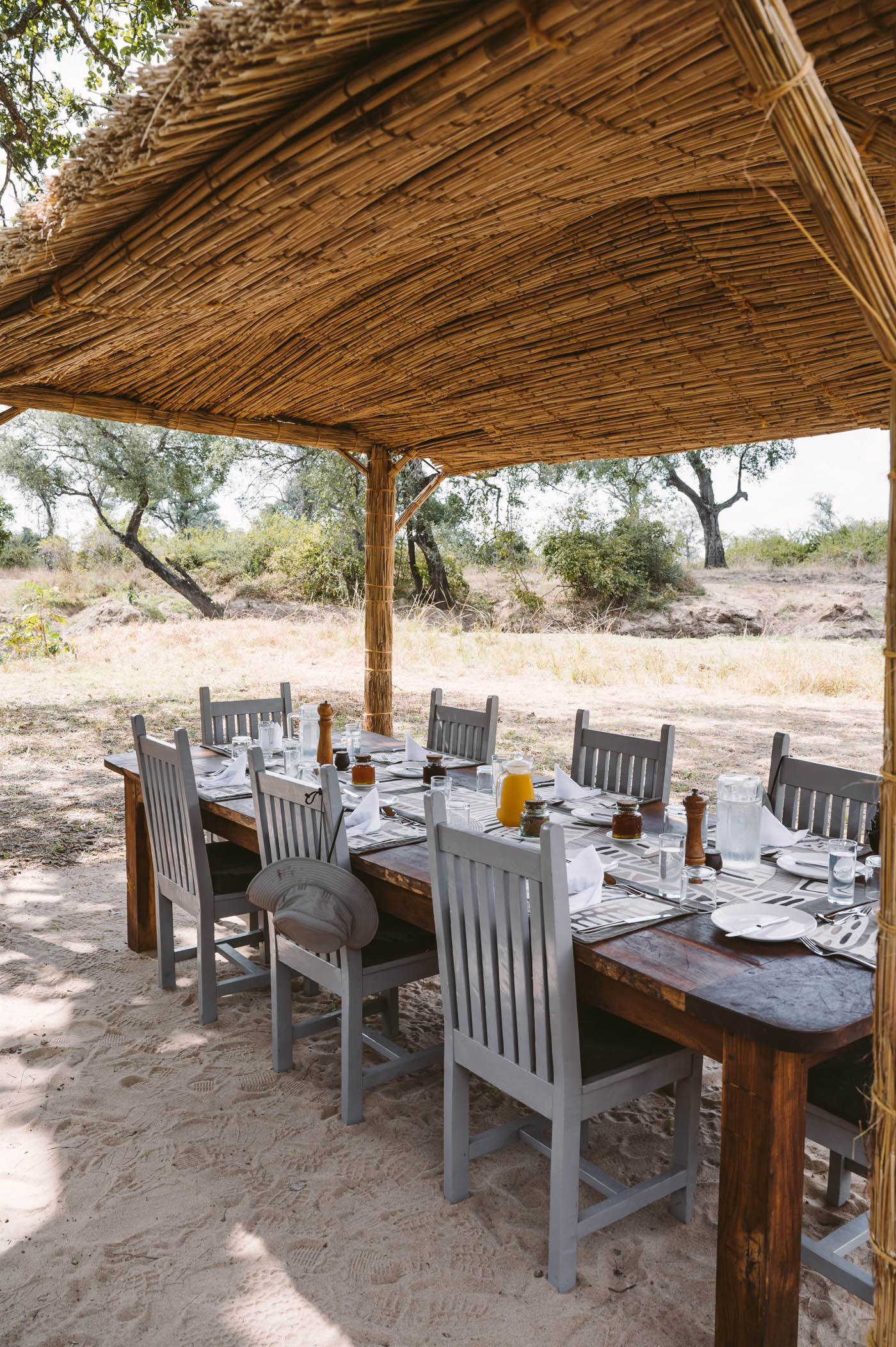 Mwamba camp by Shenton Safaris in South Luangwa National Park Zambia