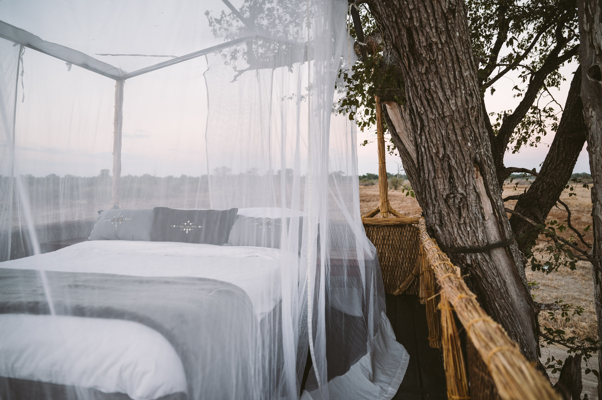 Numbu star bed by Shenton Safaris in South Luangwa National Park Zambia