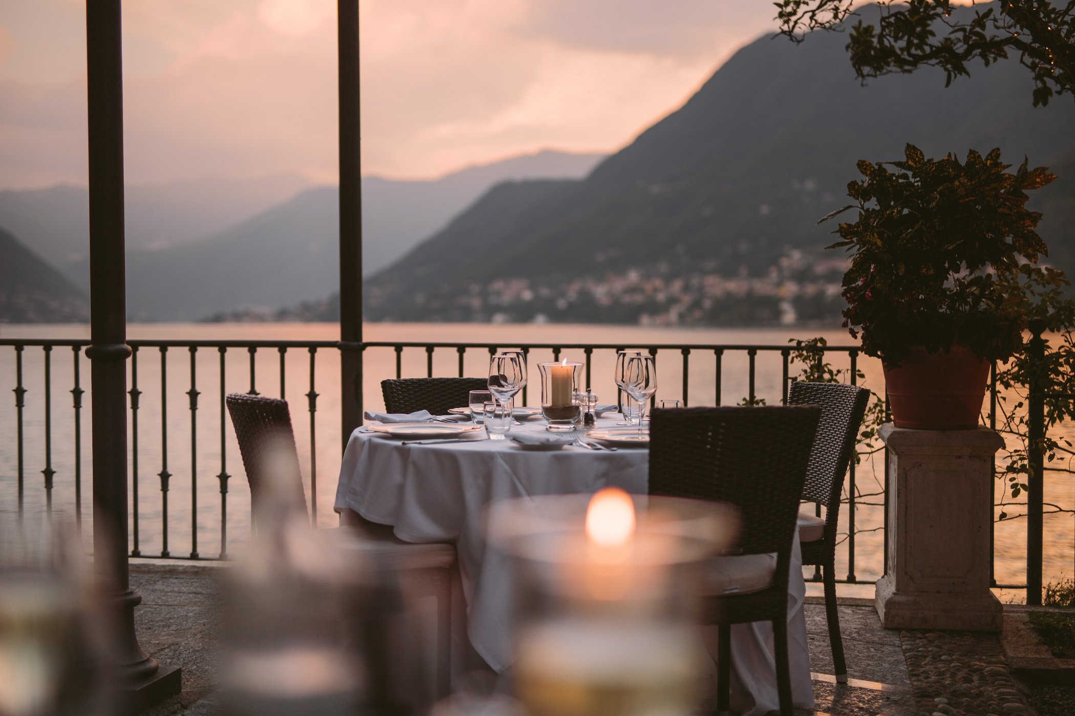 Hotel Villa Flori at Como Lake