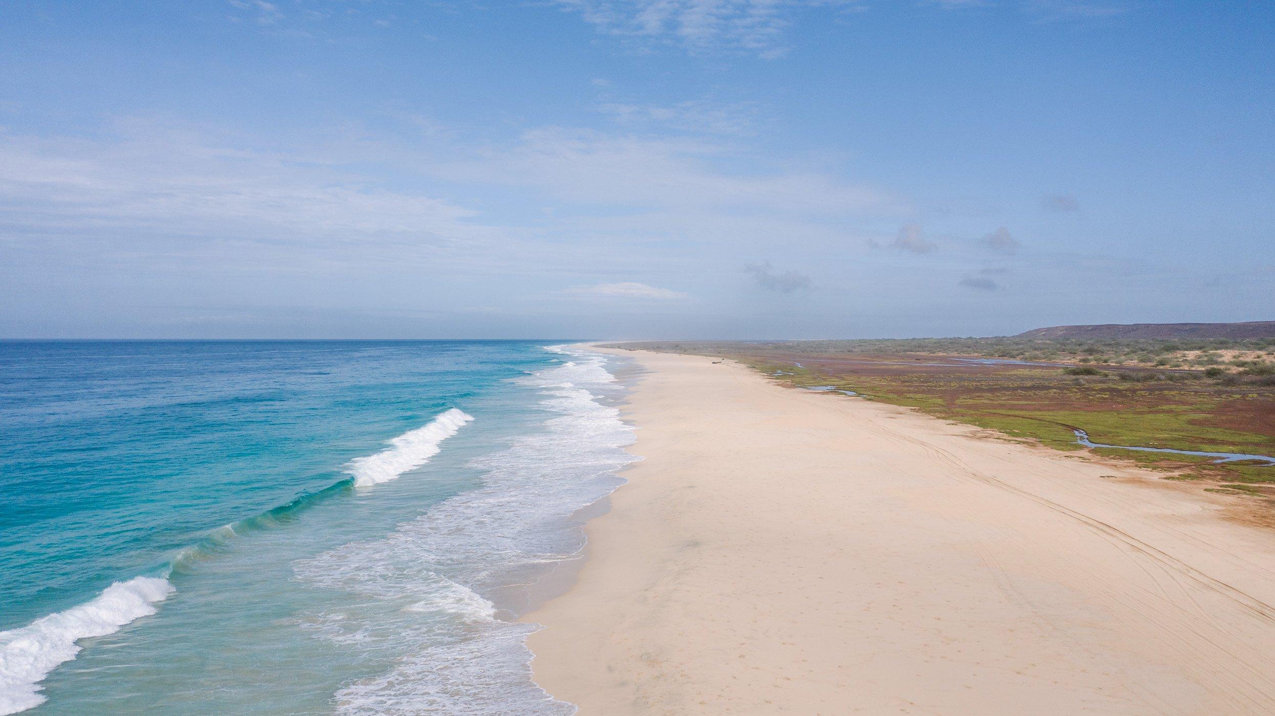 Praia Santa Monica Boa Vista Cape Verde