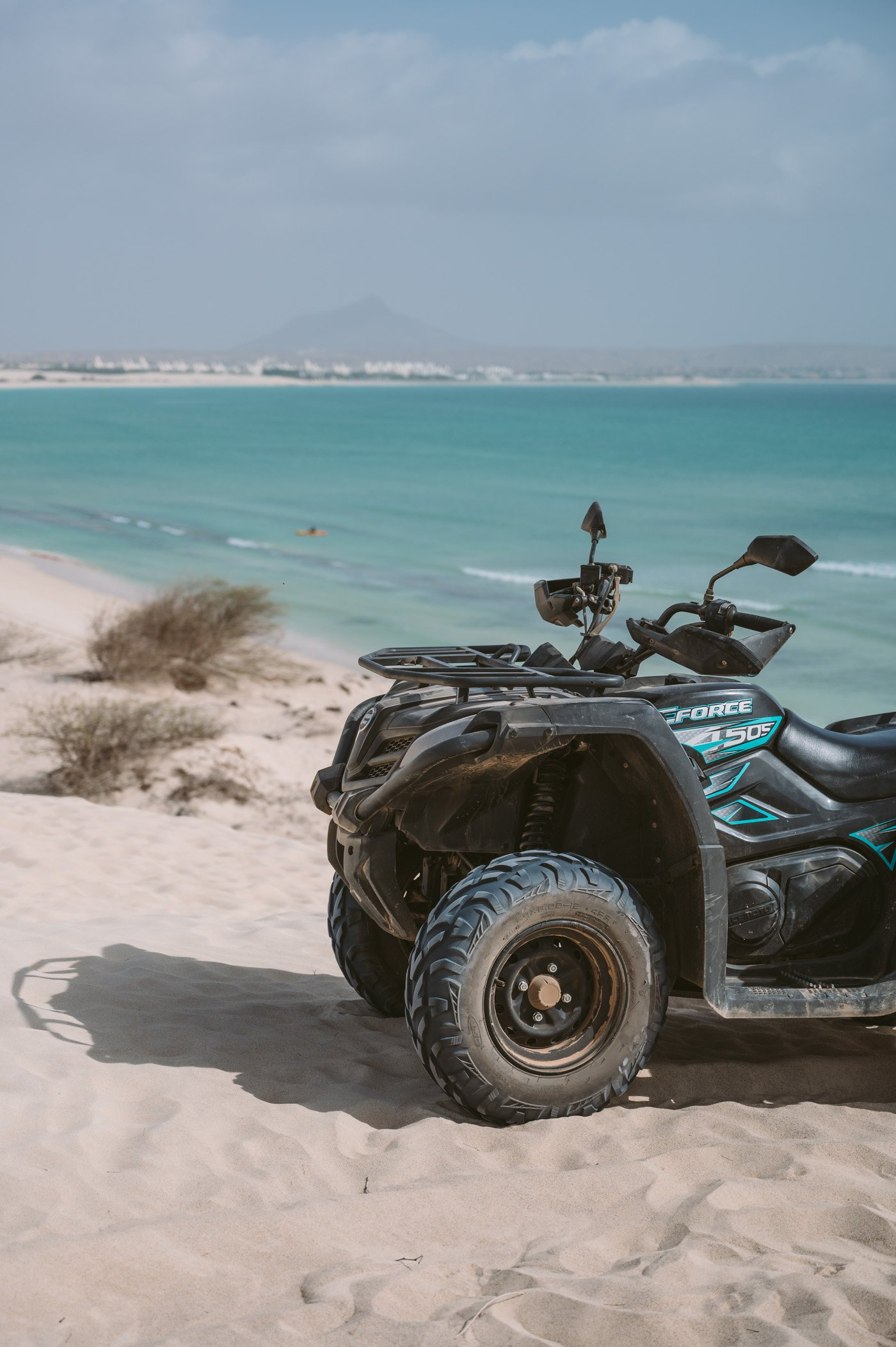 Quad tour on Boa Vista as part of one week itinerary Cape Verde