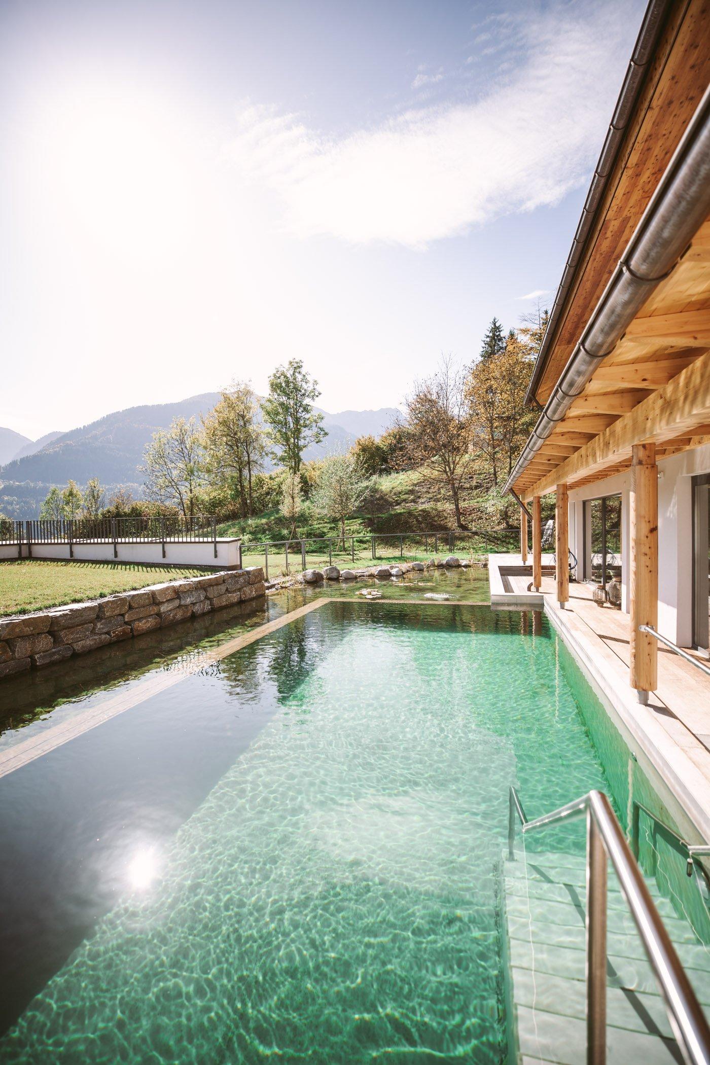 Der Daberer Biohotel pool