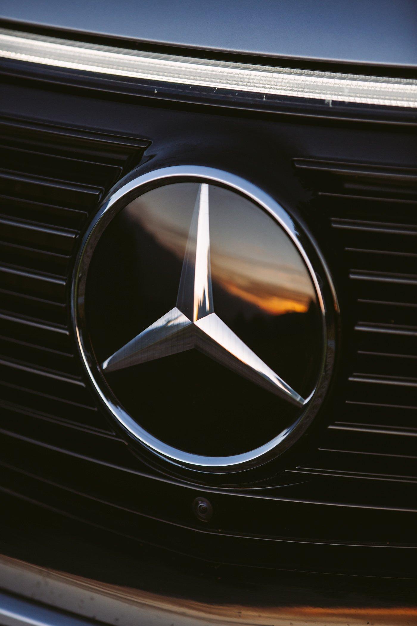 Mercedes EQC in the Austrian Alps
