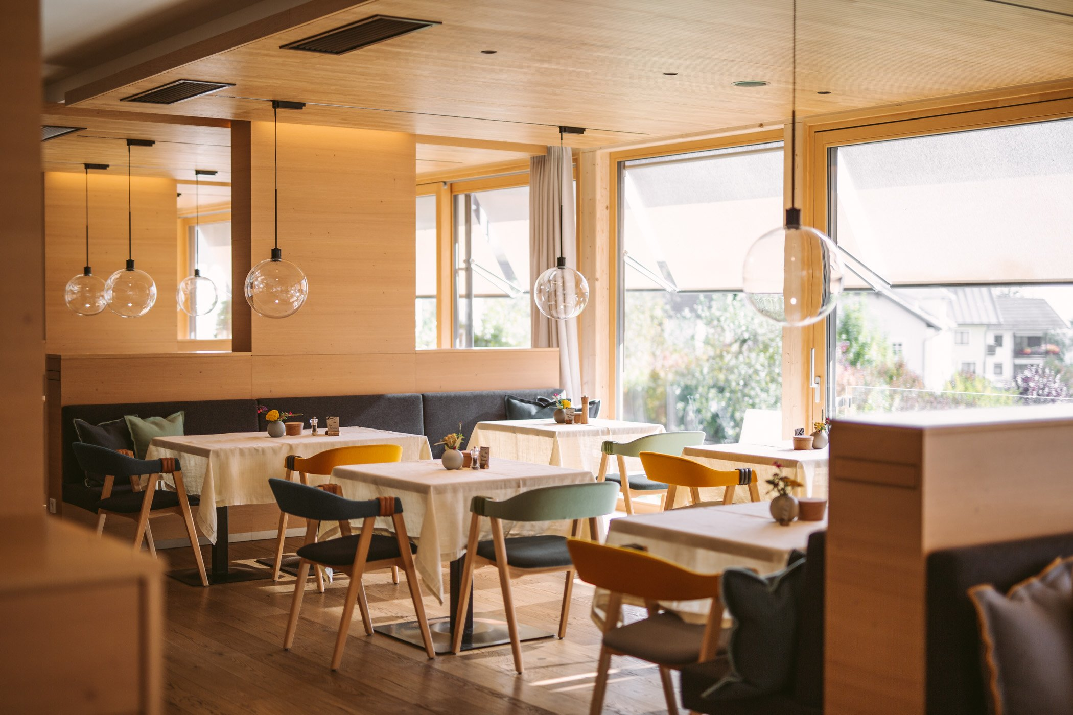 Der Daberer Biohotel restaurant