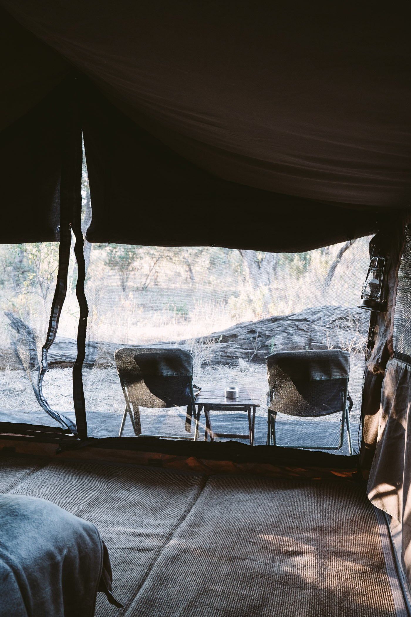 andBeyond Chobe under Canvas tent