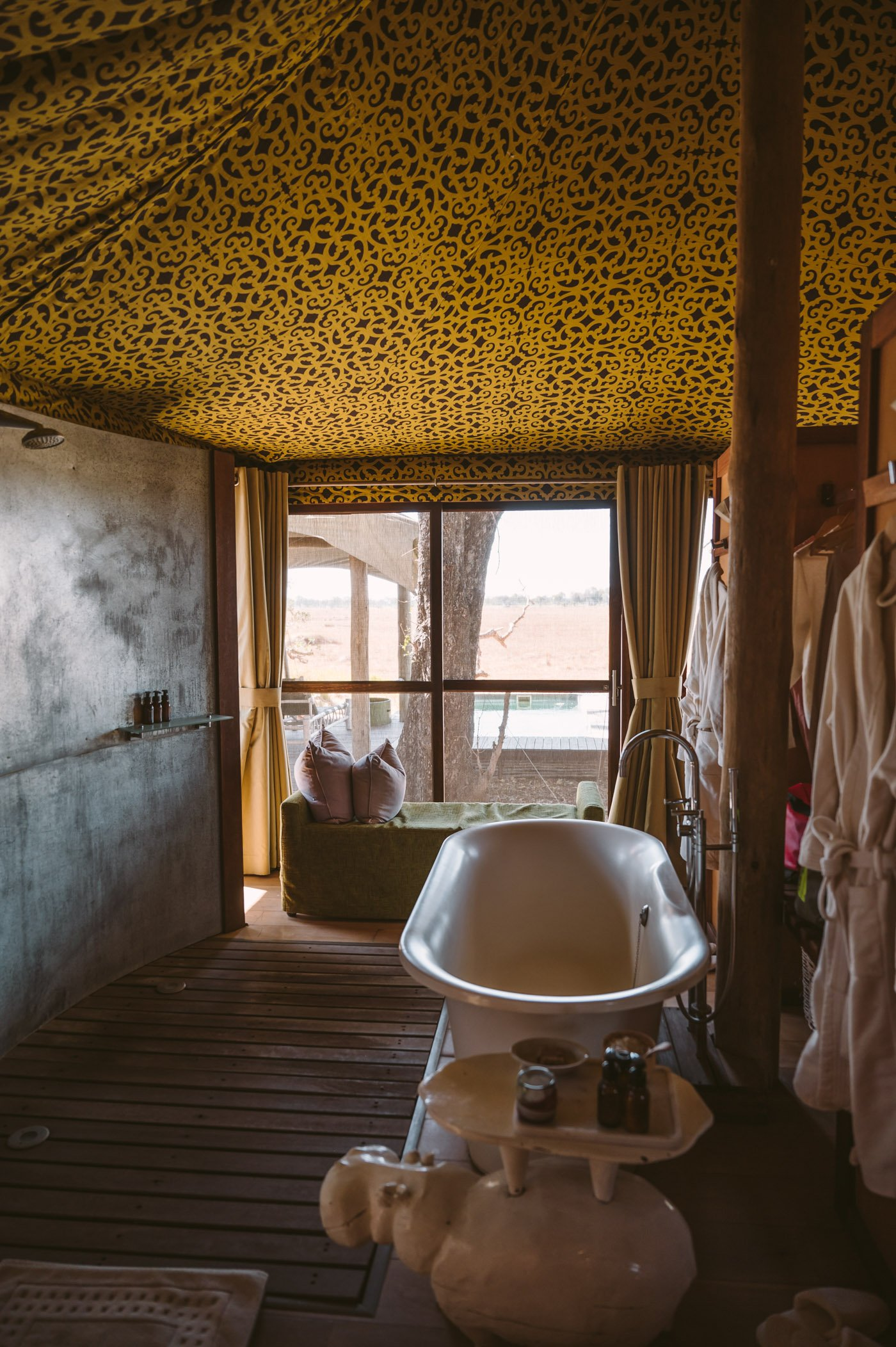 andBeyond Xaranna Okavango Delta Camp bathroom