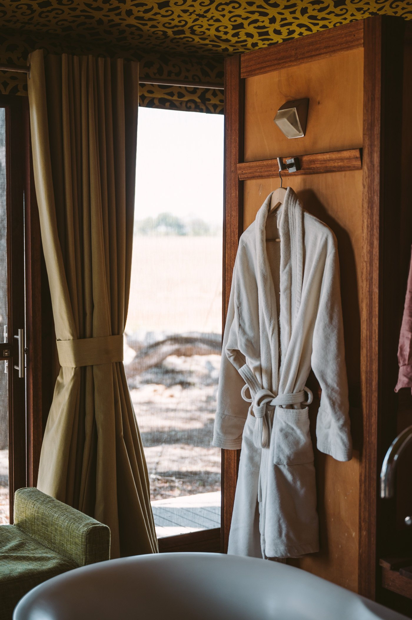 andBeyond Xaranna Okavango Delta Camp bathroom detail