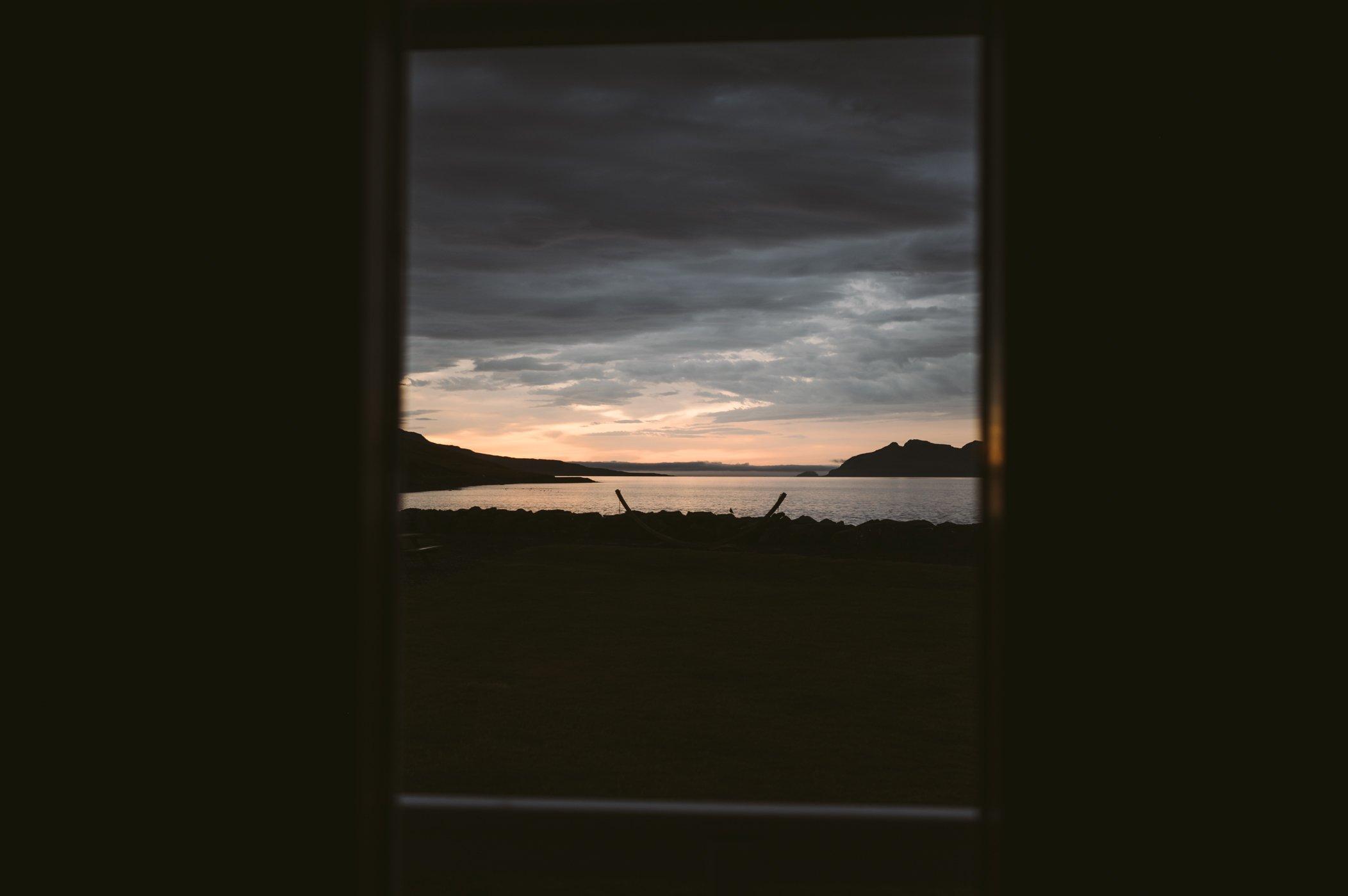 Mjóeyri guesthouse in Eskifjorður