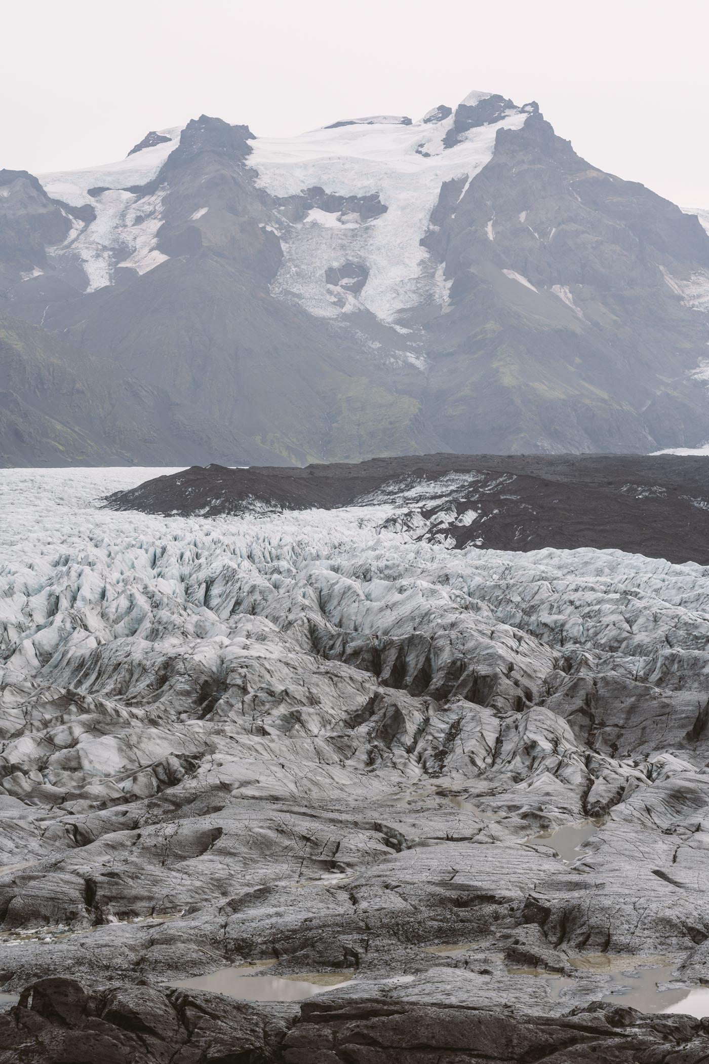 Glacier at Hotel Skaftafell
