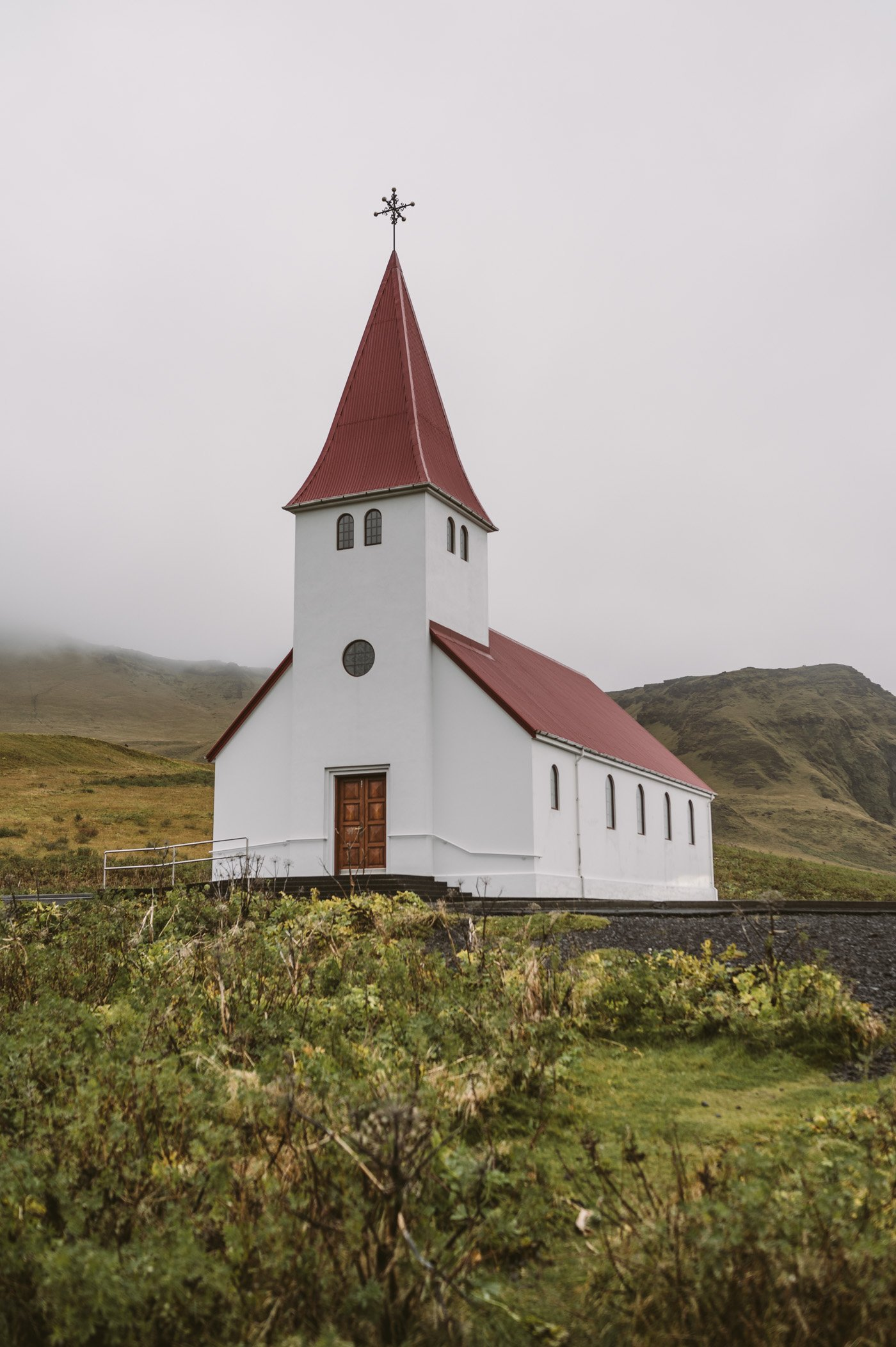 Vík church in Iceland