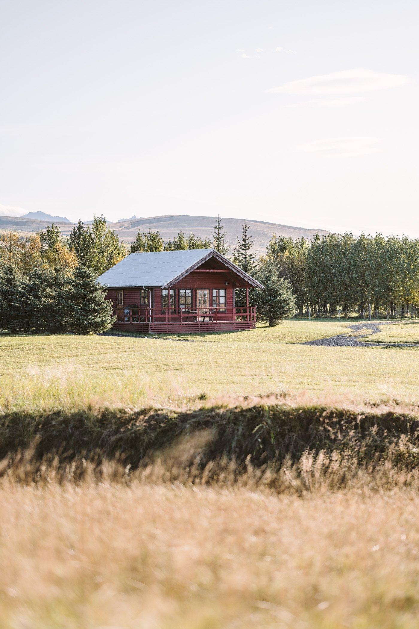 Hotel Fljotshlíd cabin