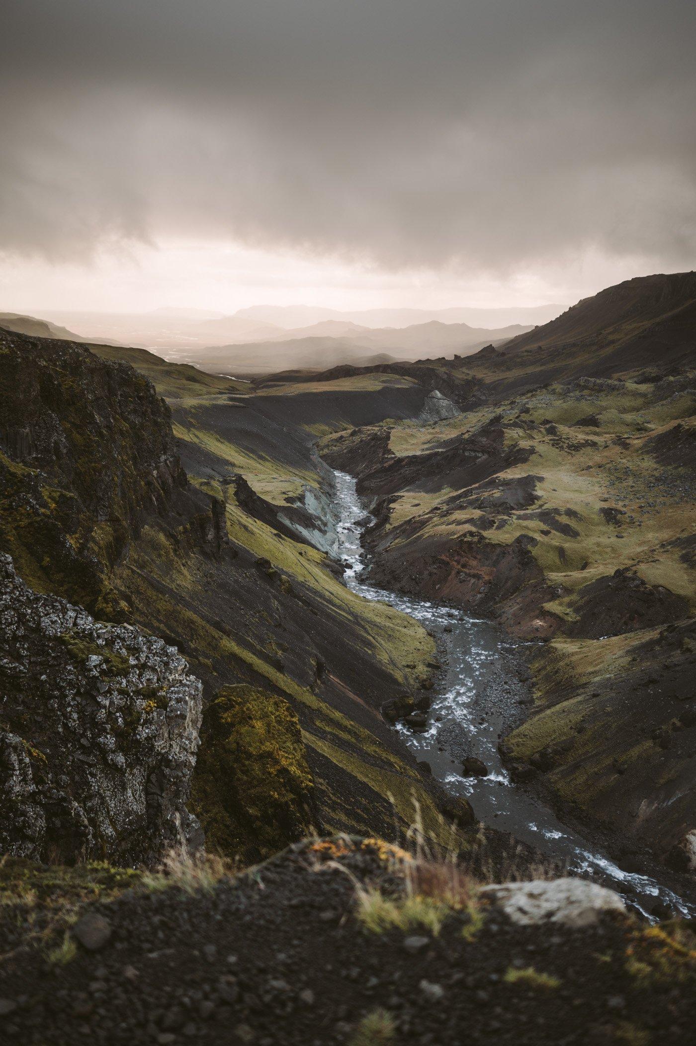 Haifoss Iceland