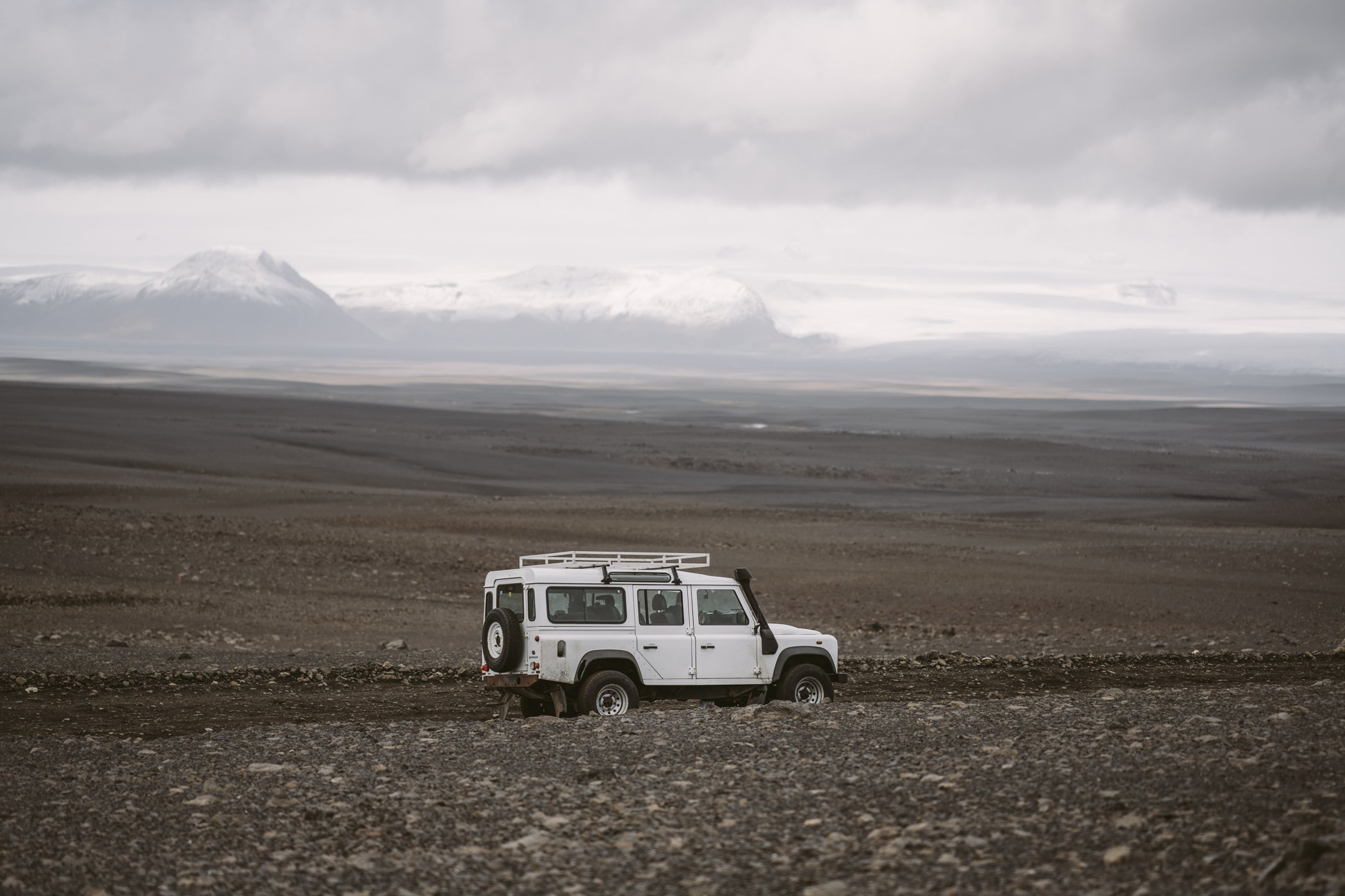 Iceland Roadtrip with a Landrover Defender