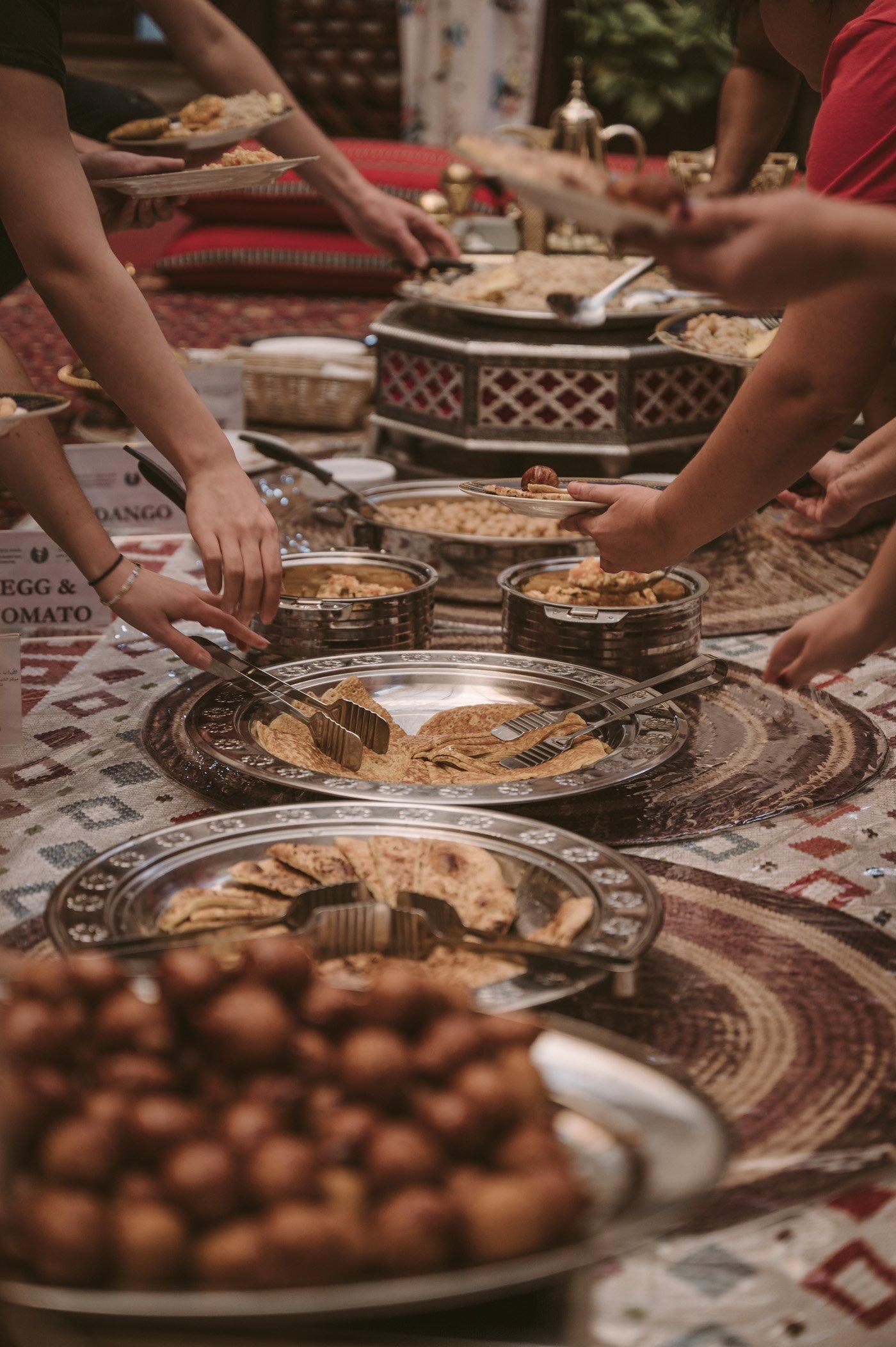 Cultural breakfast at SMCCU Dubai