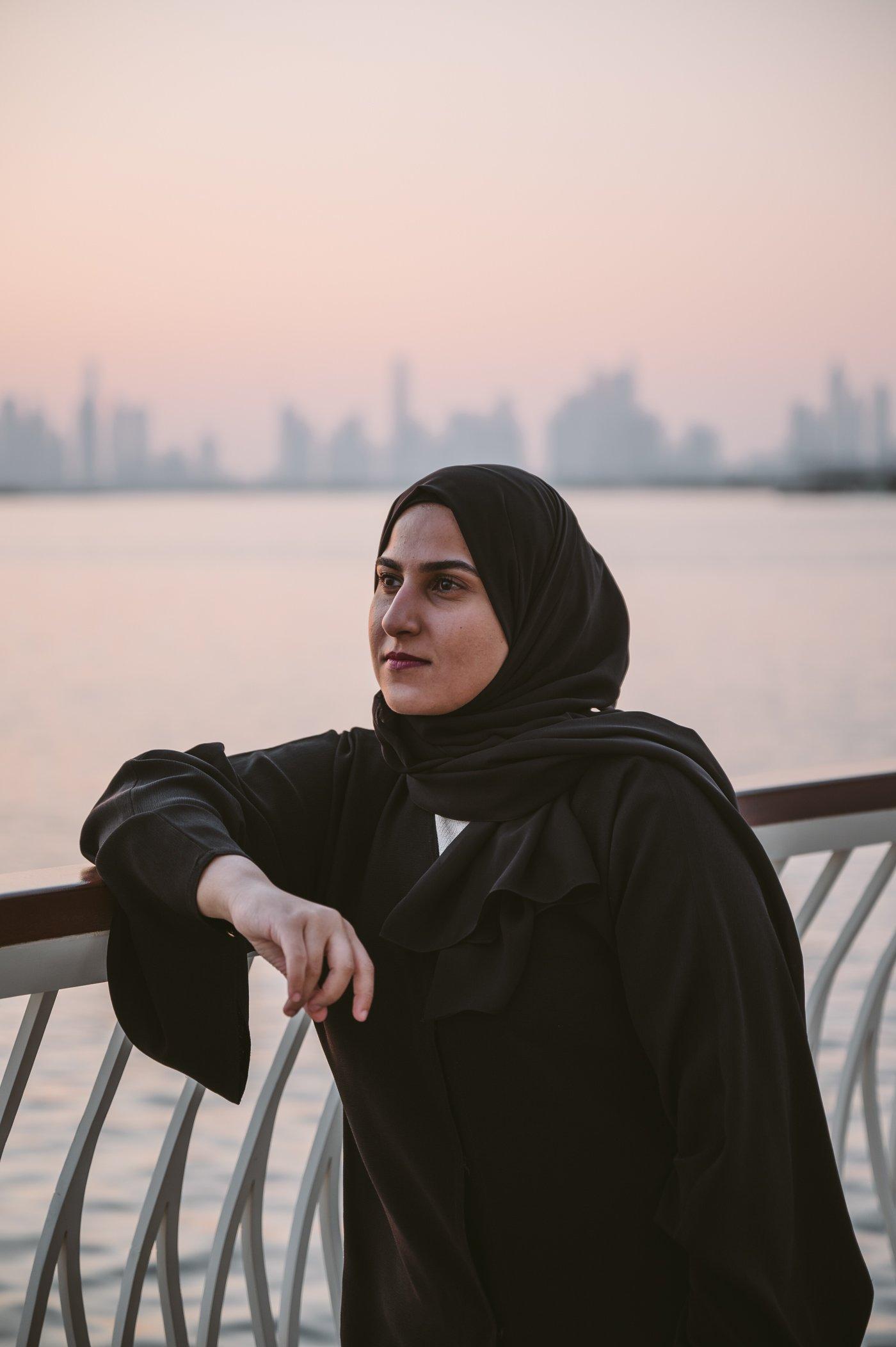 Huda bin Redha in Dubai