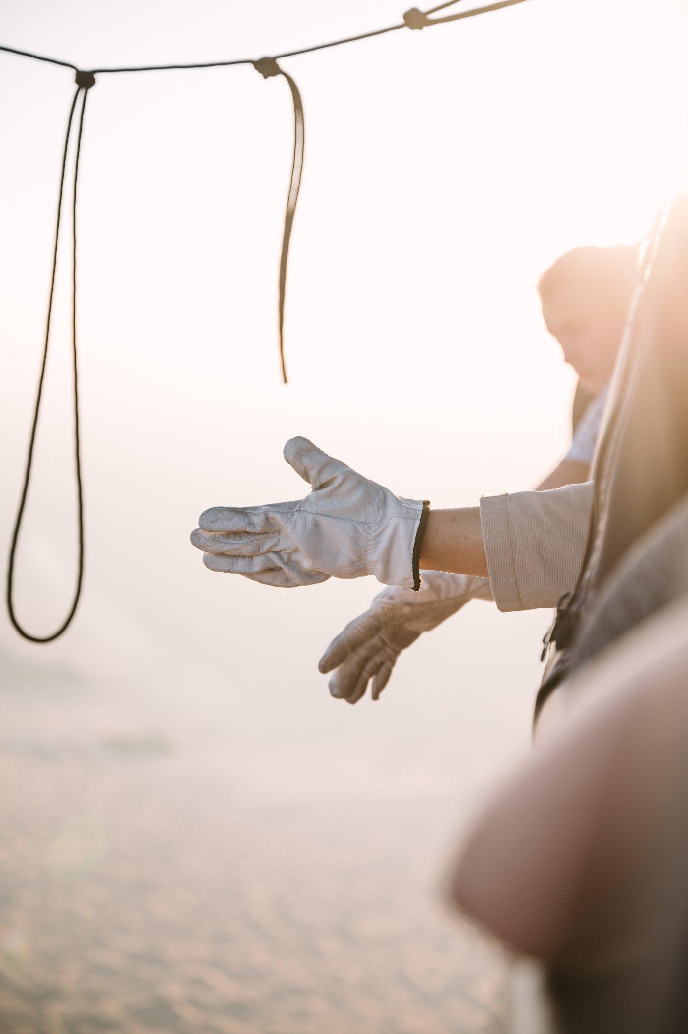 Hot air balloon ride in Dubai