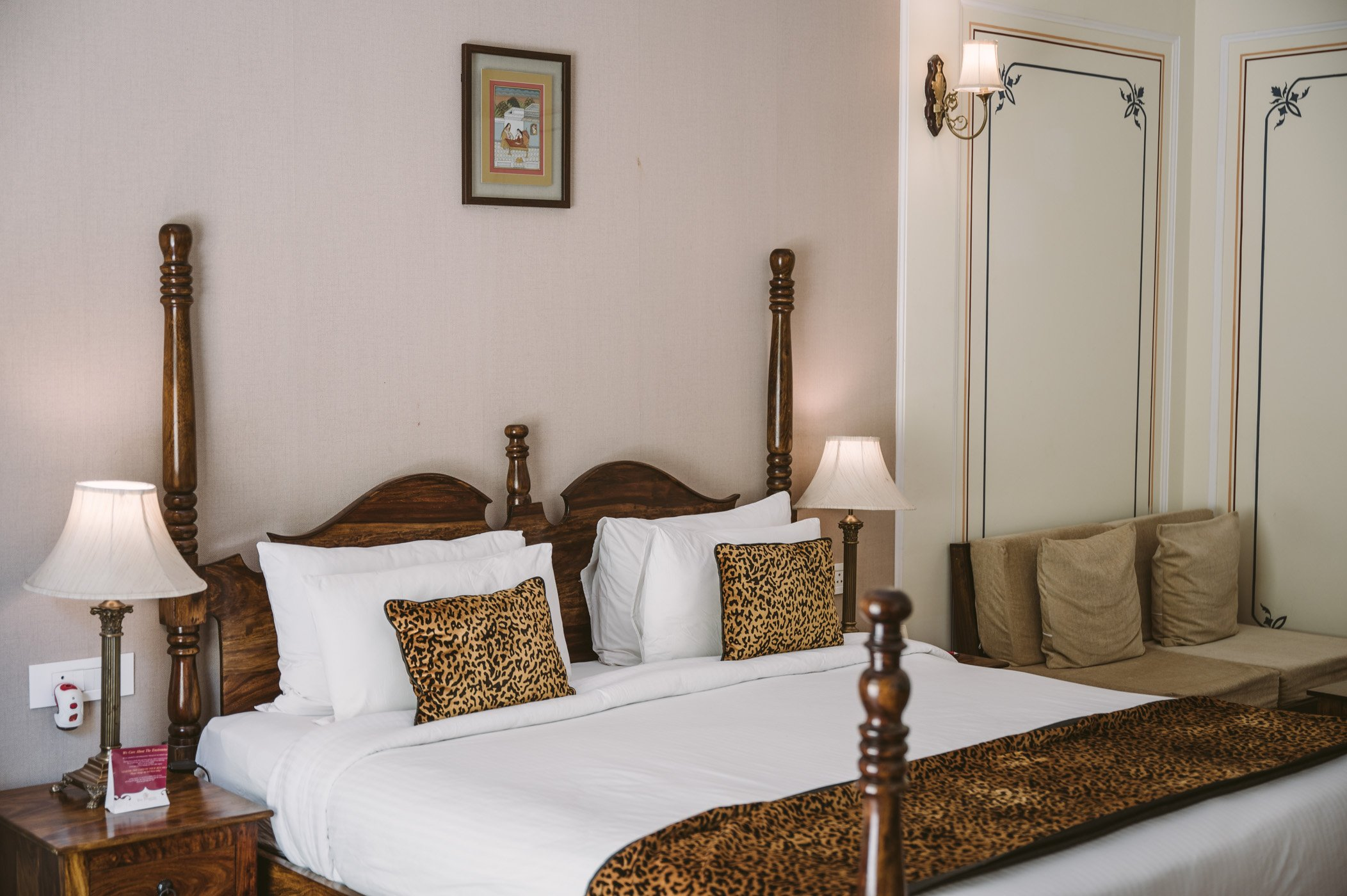 The Tigress Hotel in Ranthambore National Park India Rajasthan