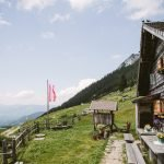 Hut in Dachstein Schladming Region in Austria