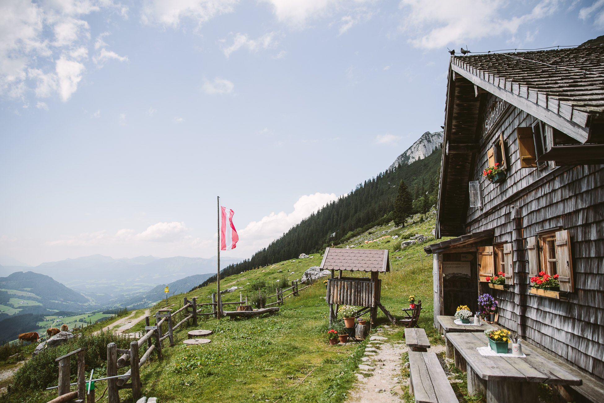 Hut in Dachstein Schladming Region in Austria