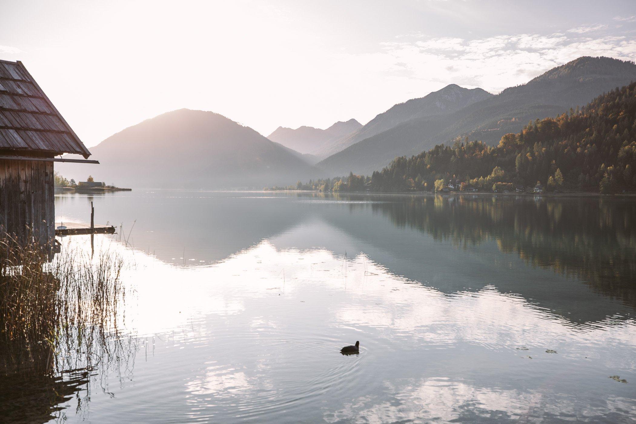 Lake Weissensee Austria