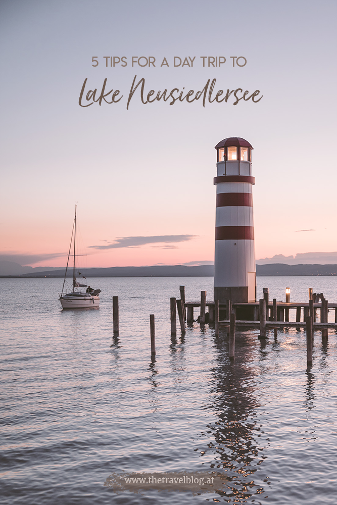 5 tips for a day trip to lake Neusiedlersee