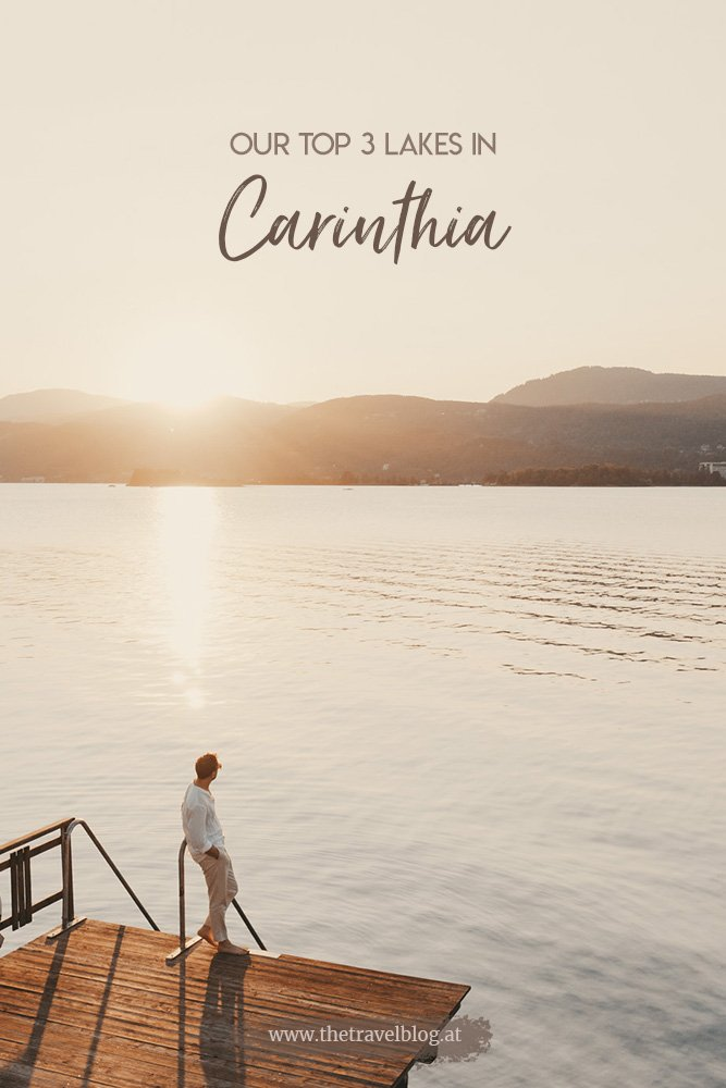Our Top 3 lakes in Carinthia