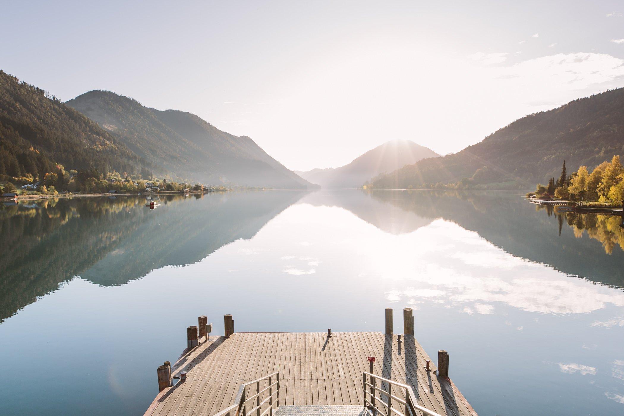 Lake Weissensee Carinthia
