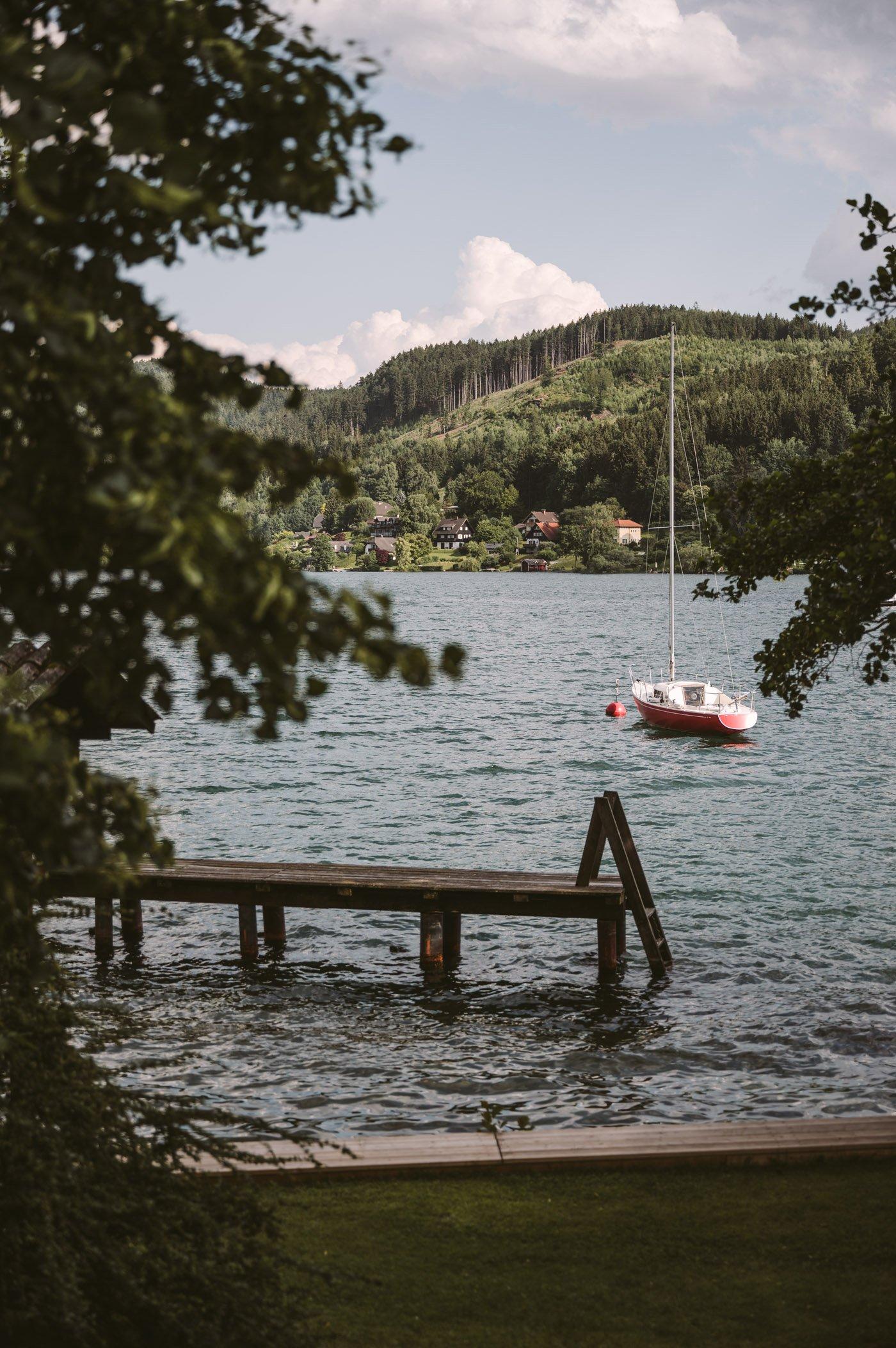 Bivouac under the stars Millstättersee - Biwak unter Sternen Biwak Radura al Lago