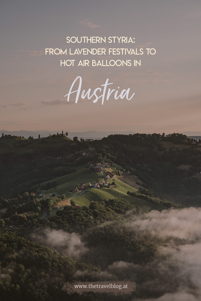 Southern Styria: From lavender festivals to hot air balloon rides in Austria
