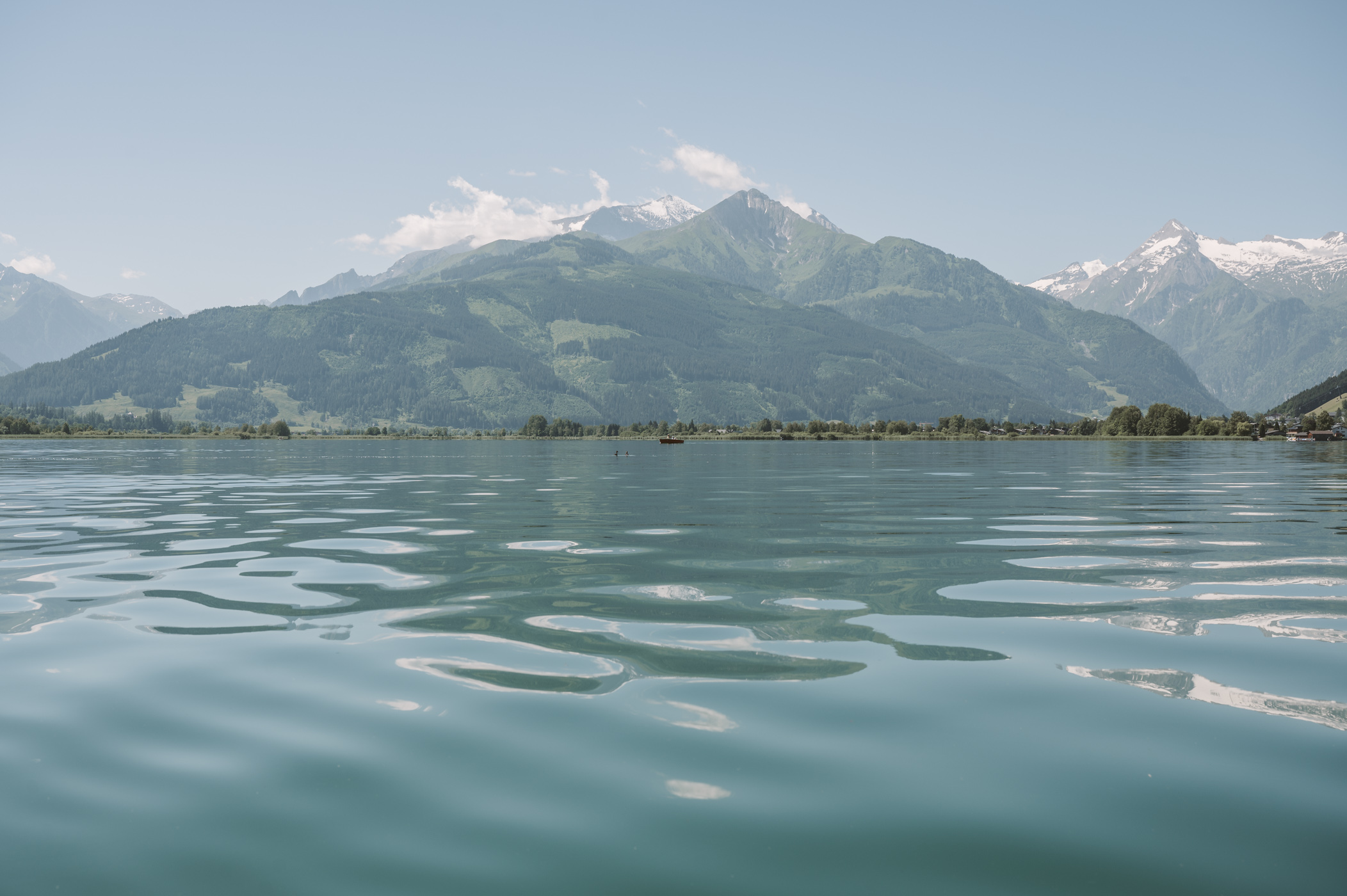 Boat ride at lake Zell