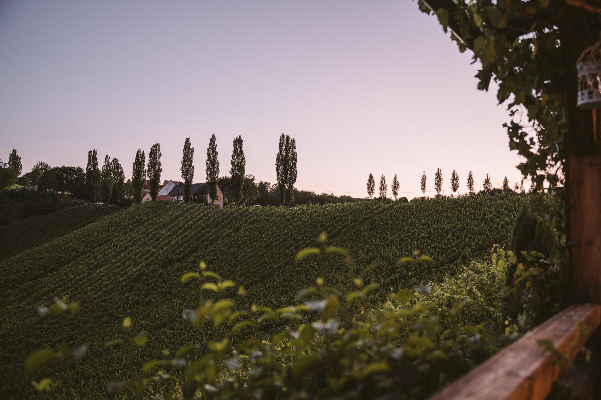Southern Styria sunset