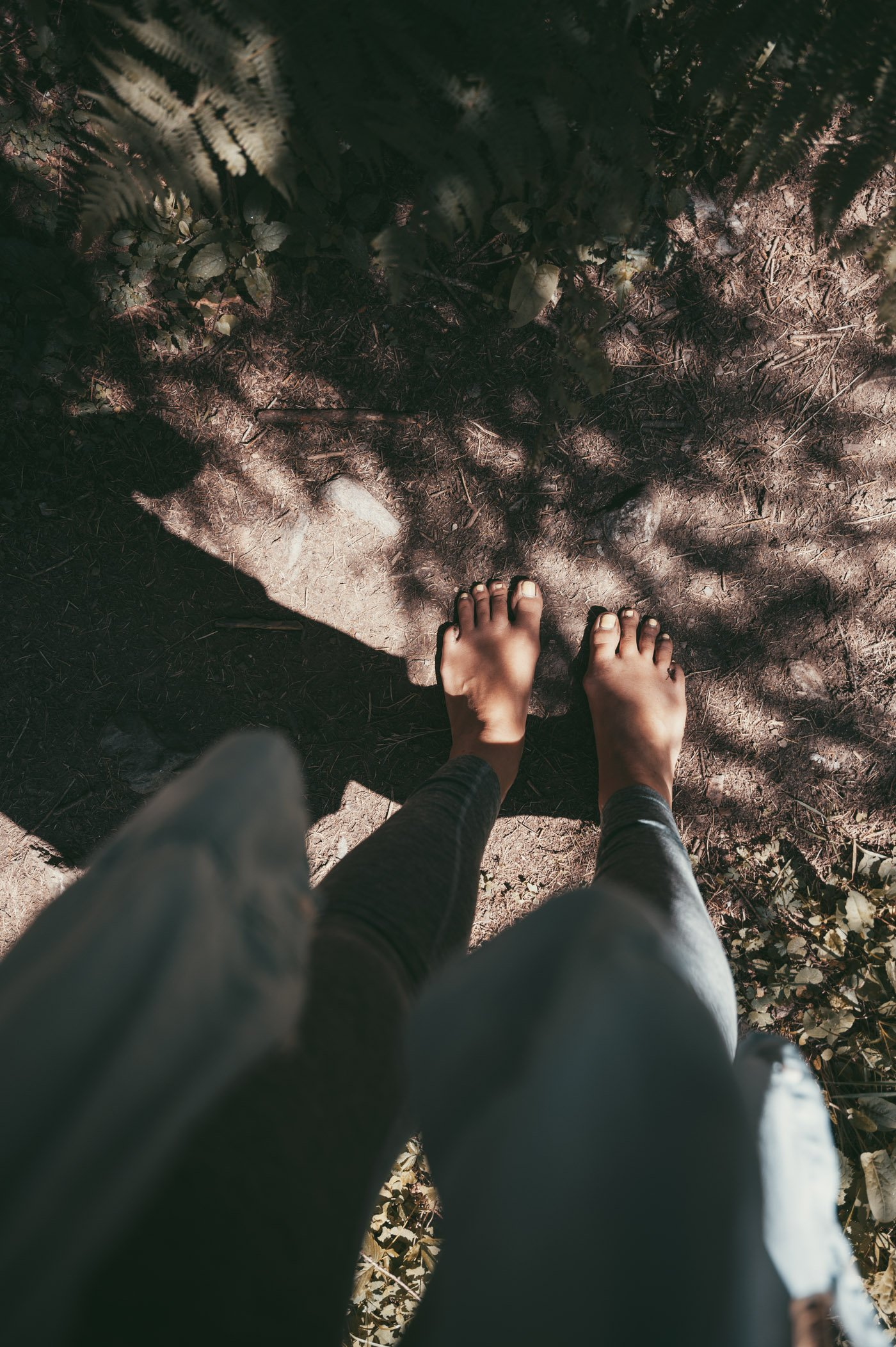 Barefoot hiking in East Tyrol - part of mindful mountain experiences