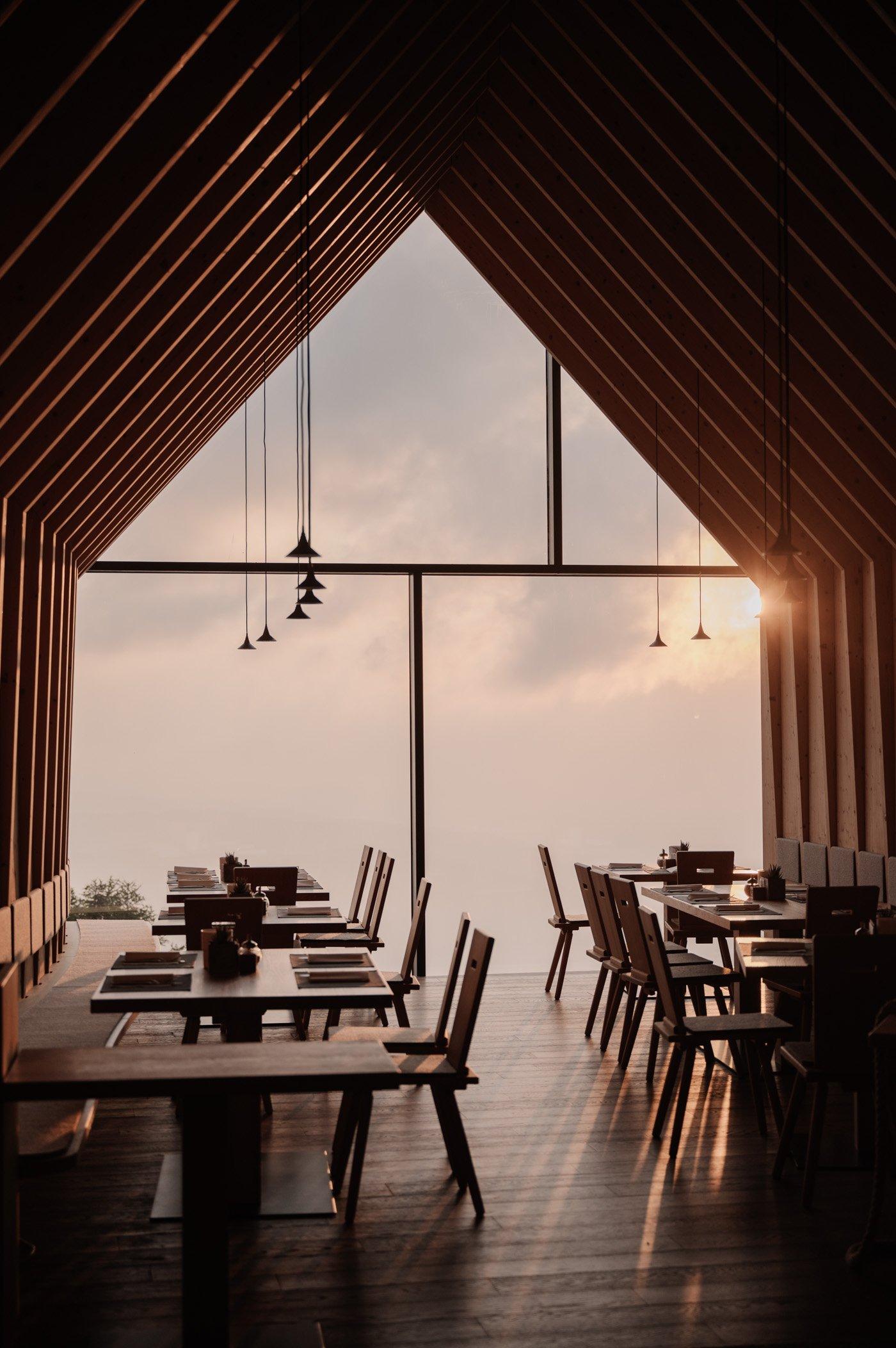 Oberholz hut in South Tyrol