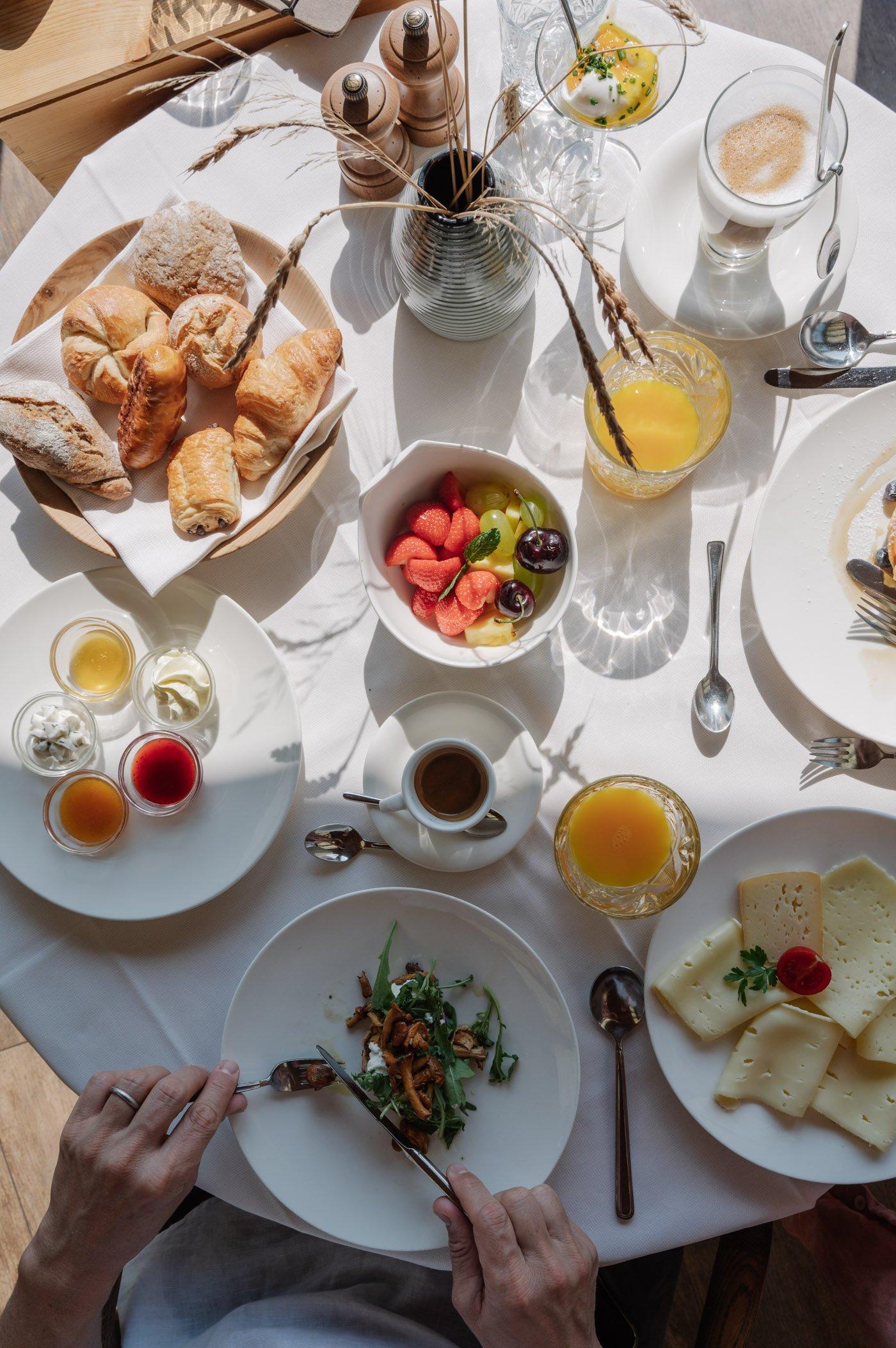Breakfast at Hotel Saltus