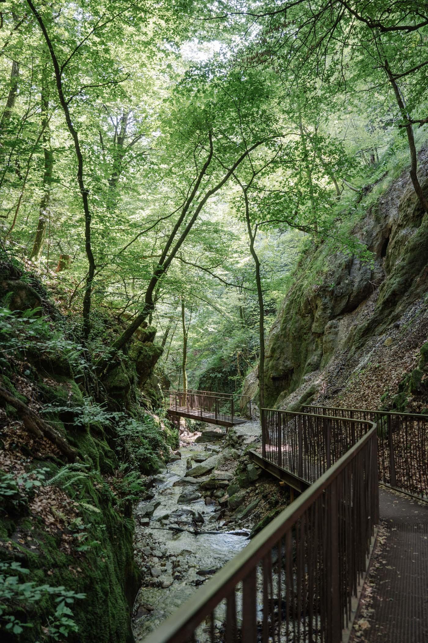 Rastenbachklamm South Tyrol