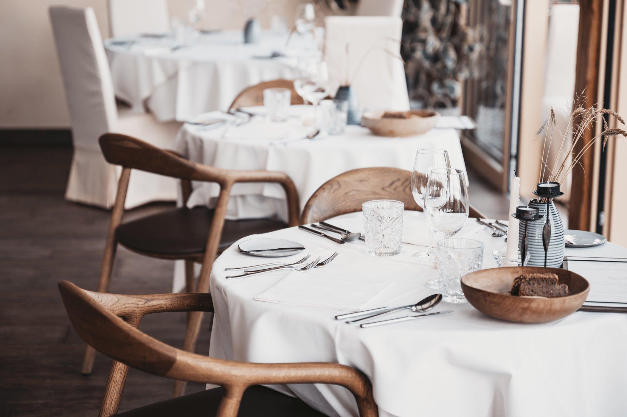 Restaurant at Hotel Saltus in San Genesio South Tyrol