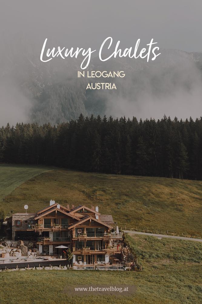 Senhoog Luxury Chalets in Leogang Austria