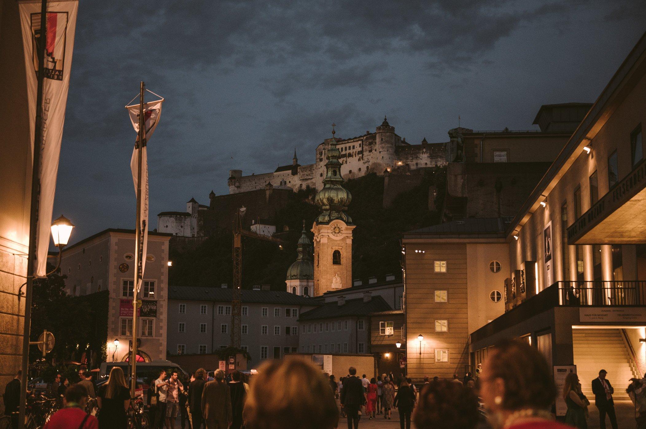 Salzburg city trip during Salzburg festival
