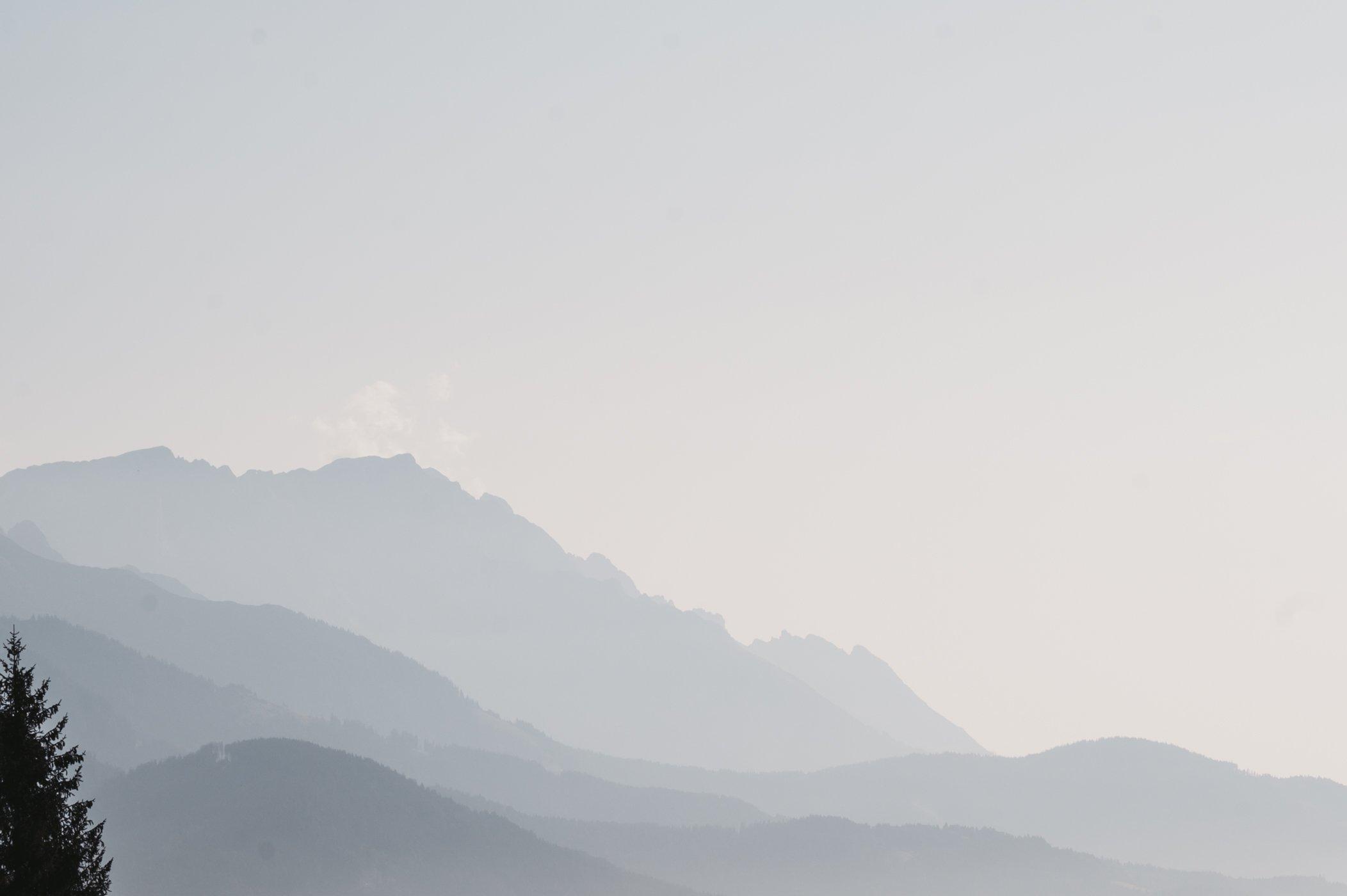 Leogang Steinernes Meer mountain range