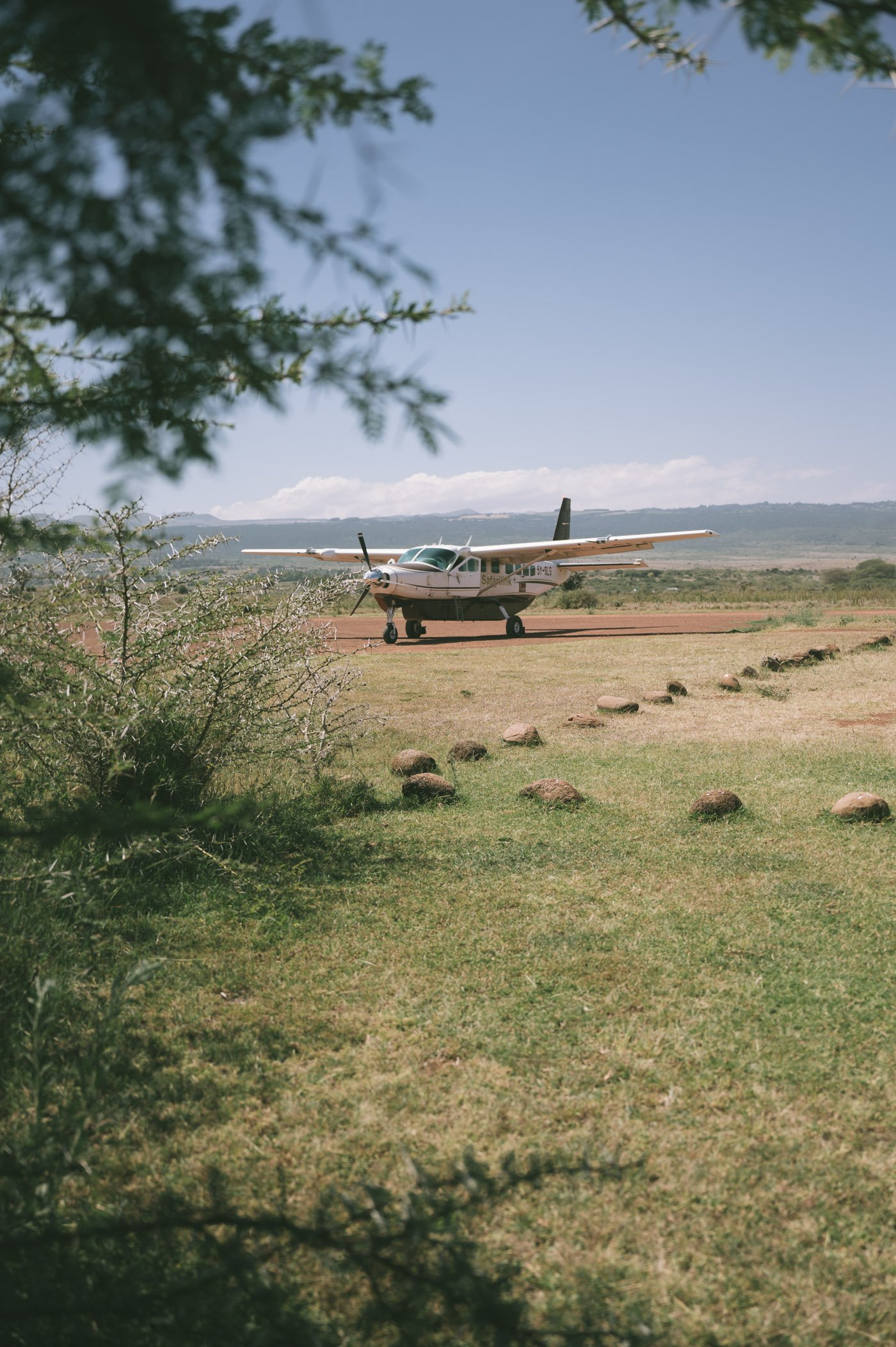Lewa Downs Airstrip at Lewa Wildlife Conservancy Kenya
